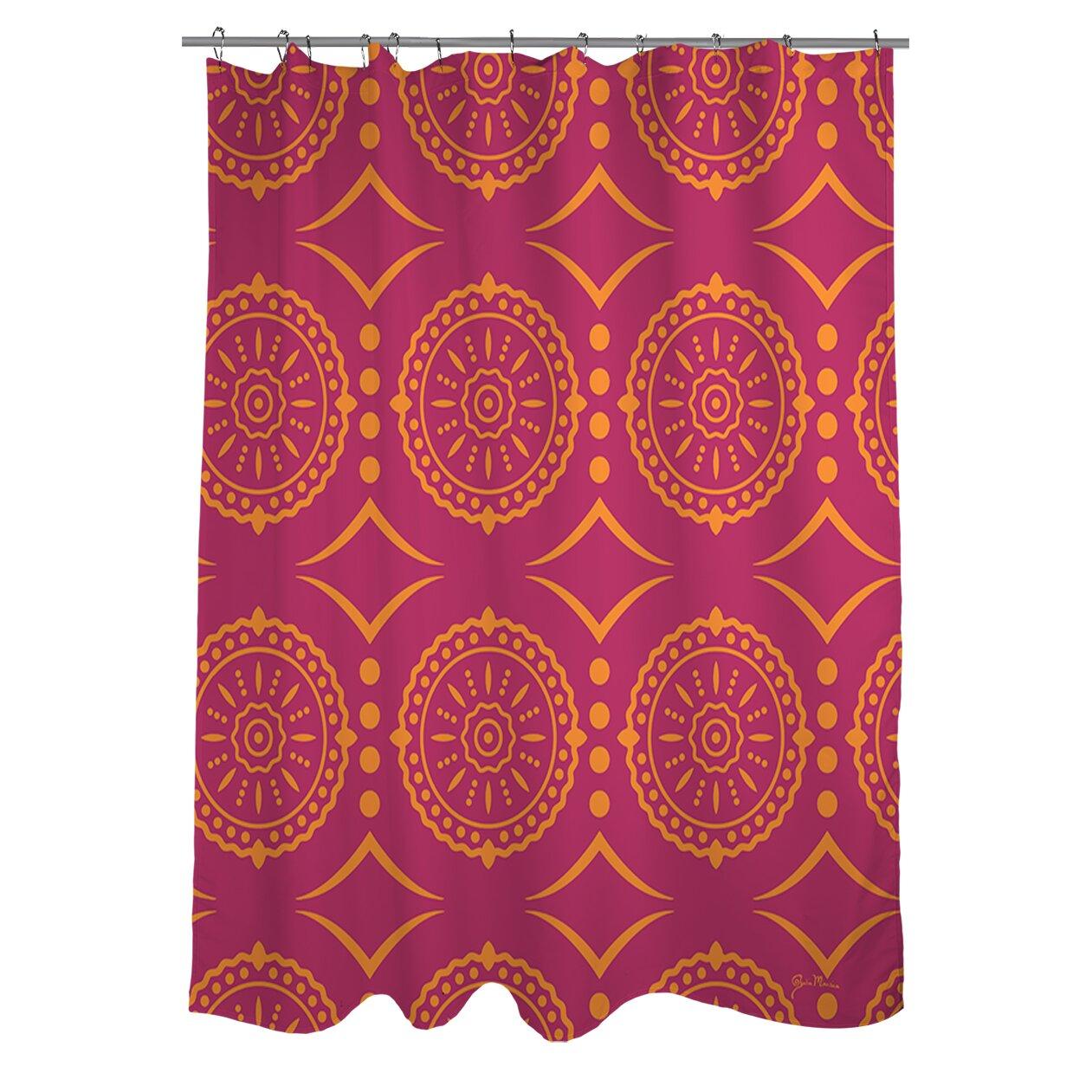 Cynthia rowley medallion shower curtain - Cynthia Rowley Medallion Shower Curtain Banias Medallion Shower Curtain By Manual Woodworkers Weavers