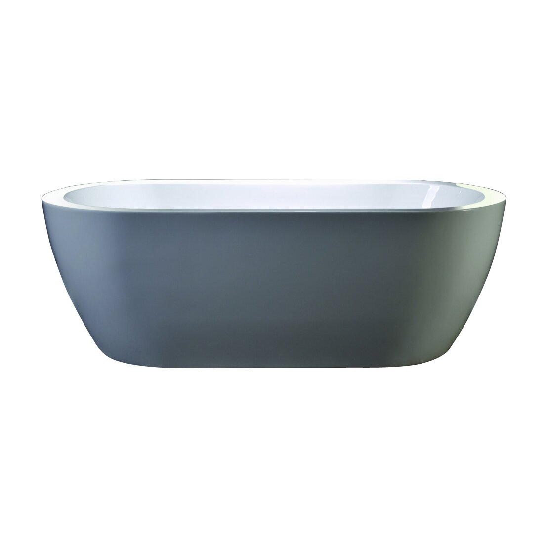 Legion Furniture We Series 68 Quot X 31 7 Quot Soaking Bathtub