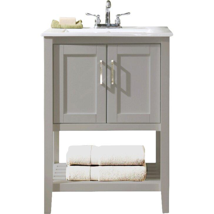 Legion Furniture 24 Quot Single Bathroom Vanity Set Amp Reviews
