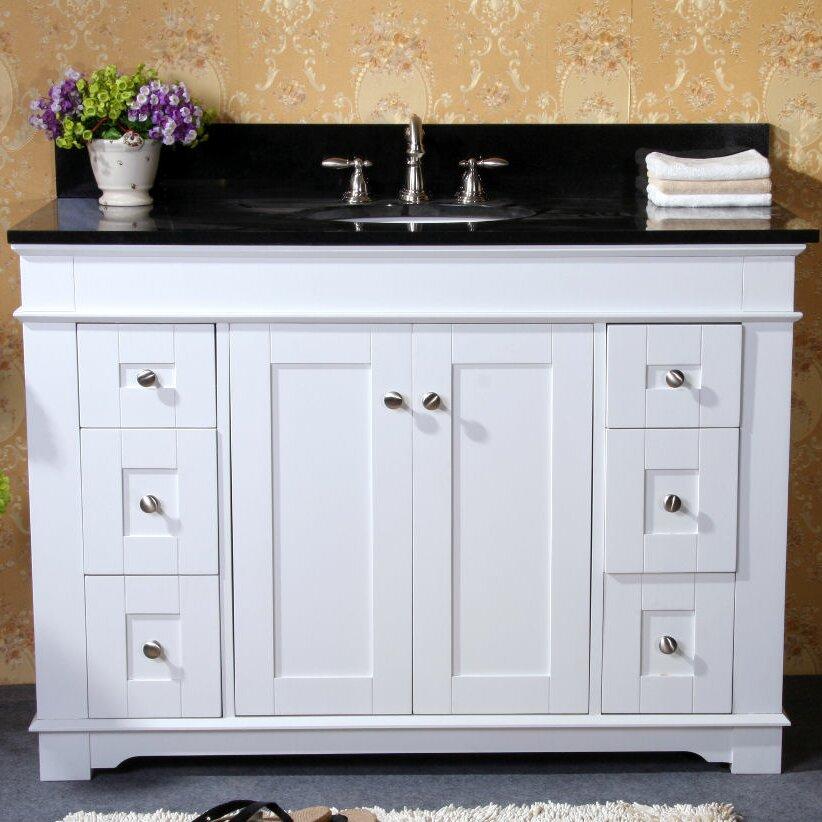 48 Quot Single Sink Vanity Base Wayfair