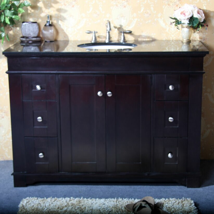 48 Quot Single Sink Vanity Base Wayfair