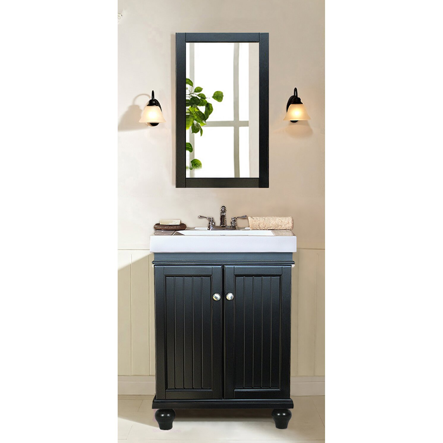 Legion Furniture 24quot; Single Bathroom Vanity Set amp; Reviews  Wayfair