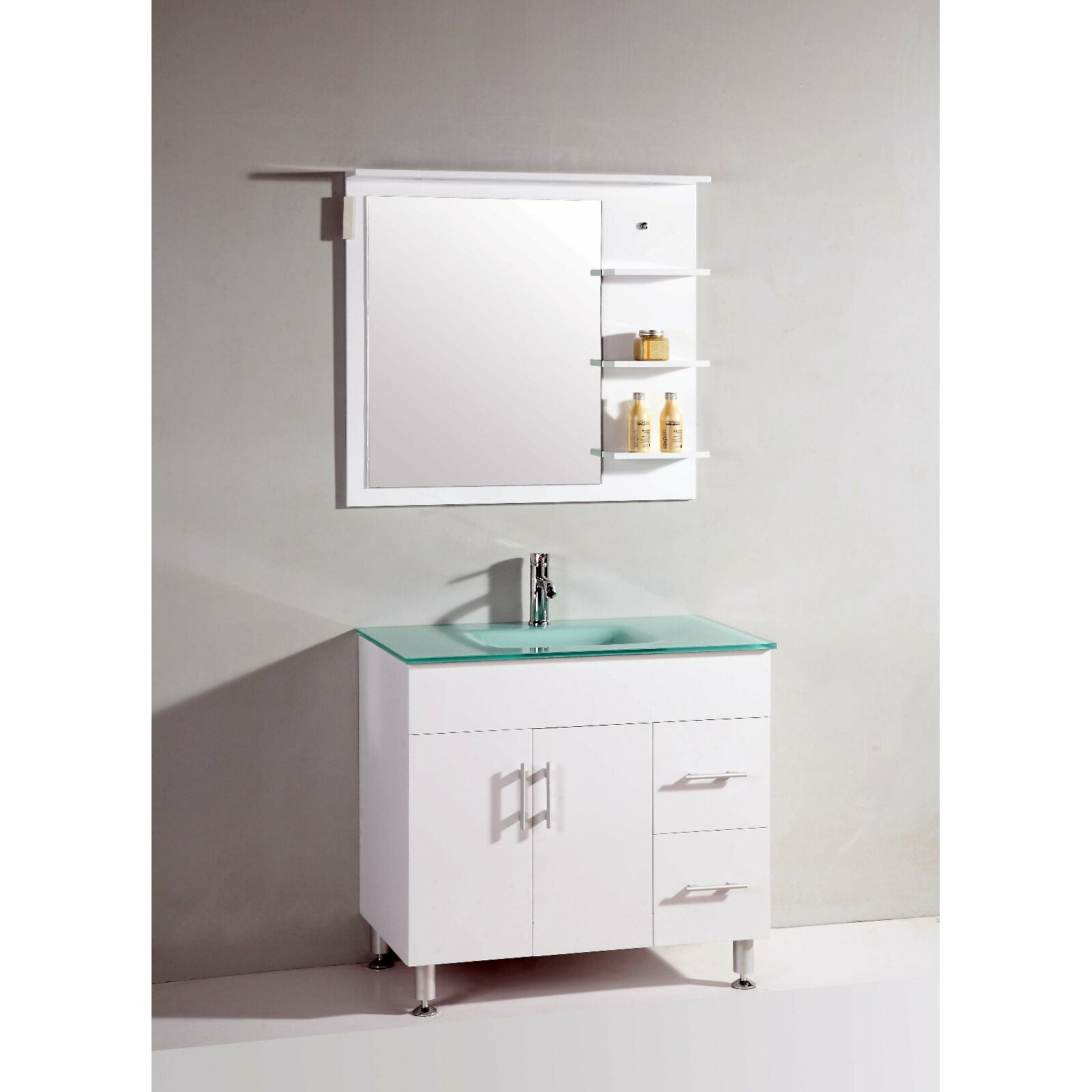 Legion Furniture 36 Quot Single Bathroom Vanity Set With