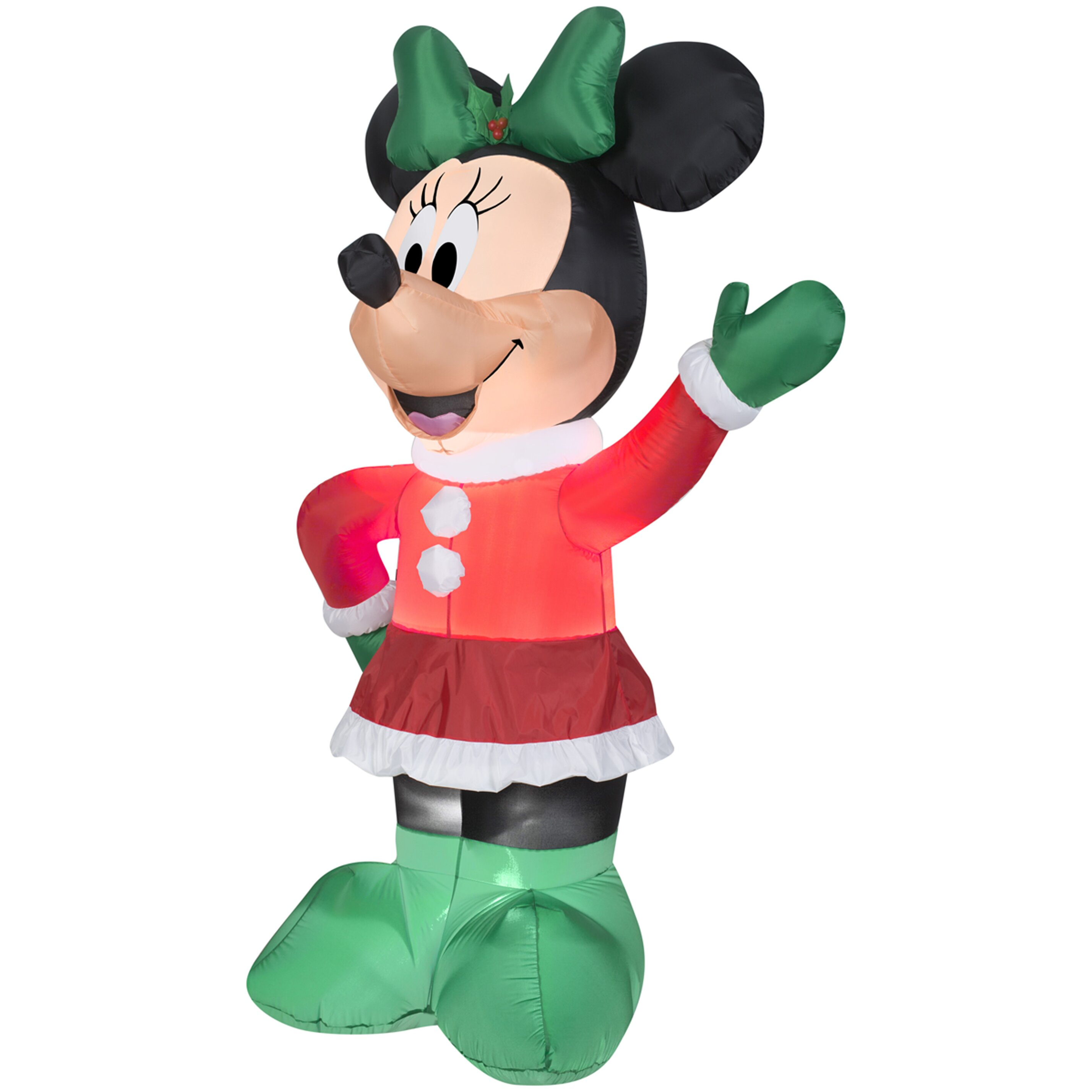 Industries airblown inflatables christmas holiday minnie decoration