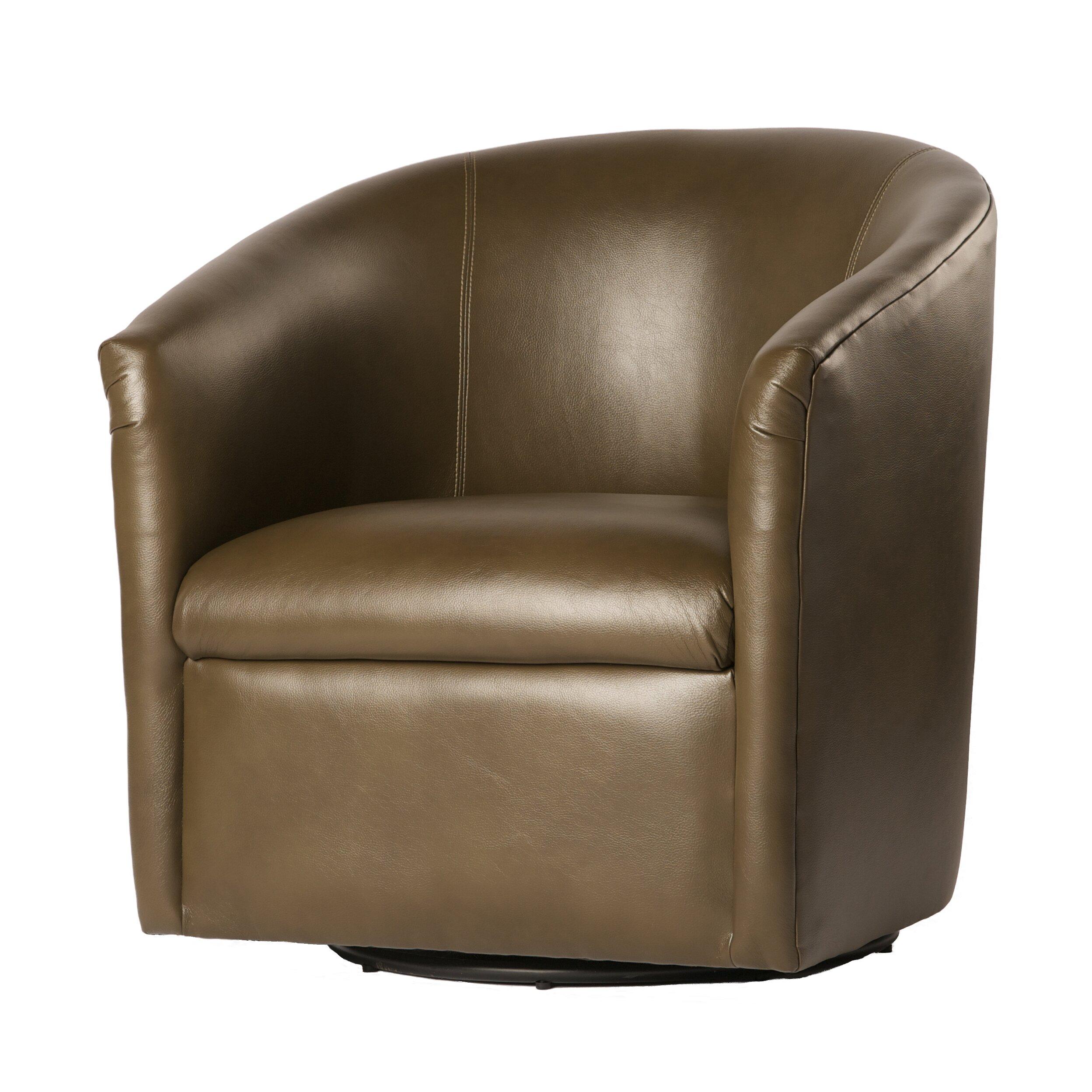 Comfort Pointe Draper Swivel Barrel Chair Amp Reviews Wayfair