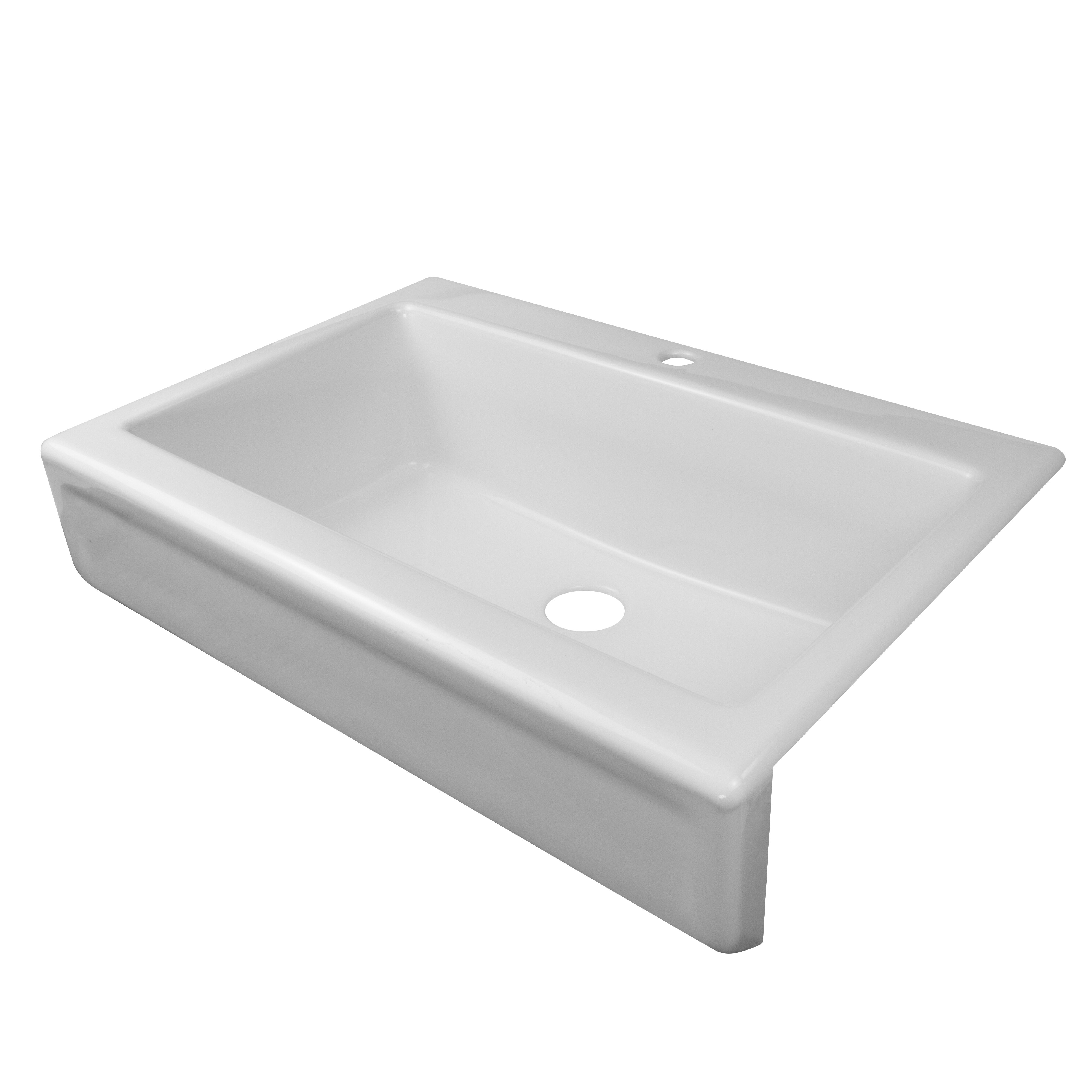 Top Mount Apron Front Kitchen Sink