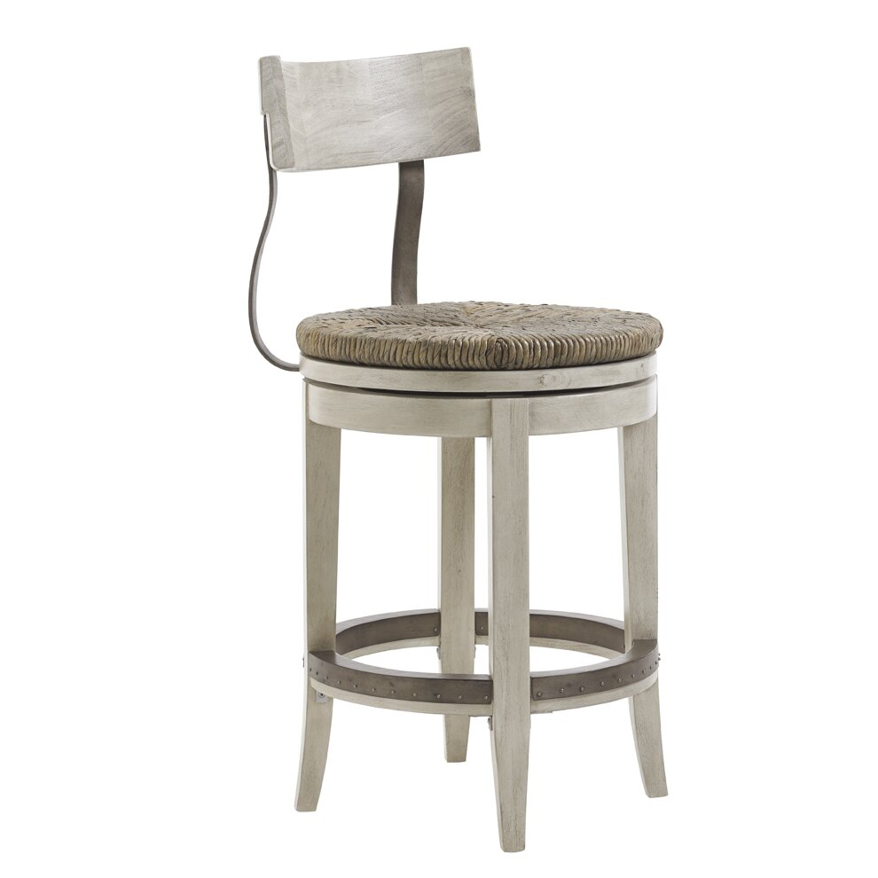 Lexington Oyster Bay Merrick 24 Quot Swivel Counter Stool