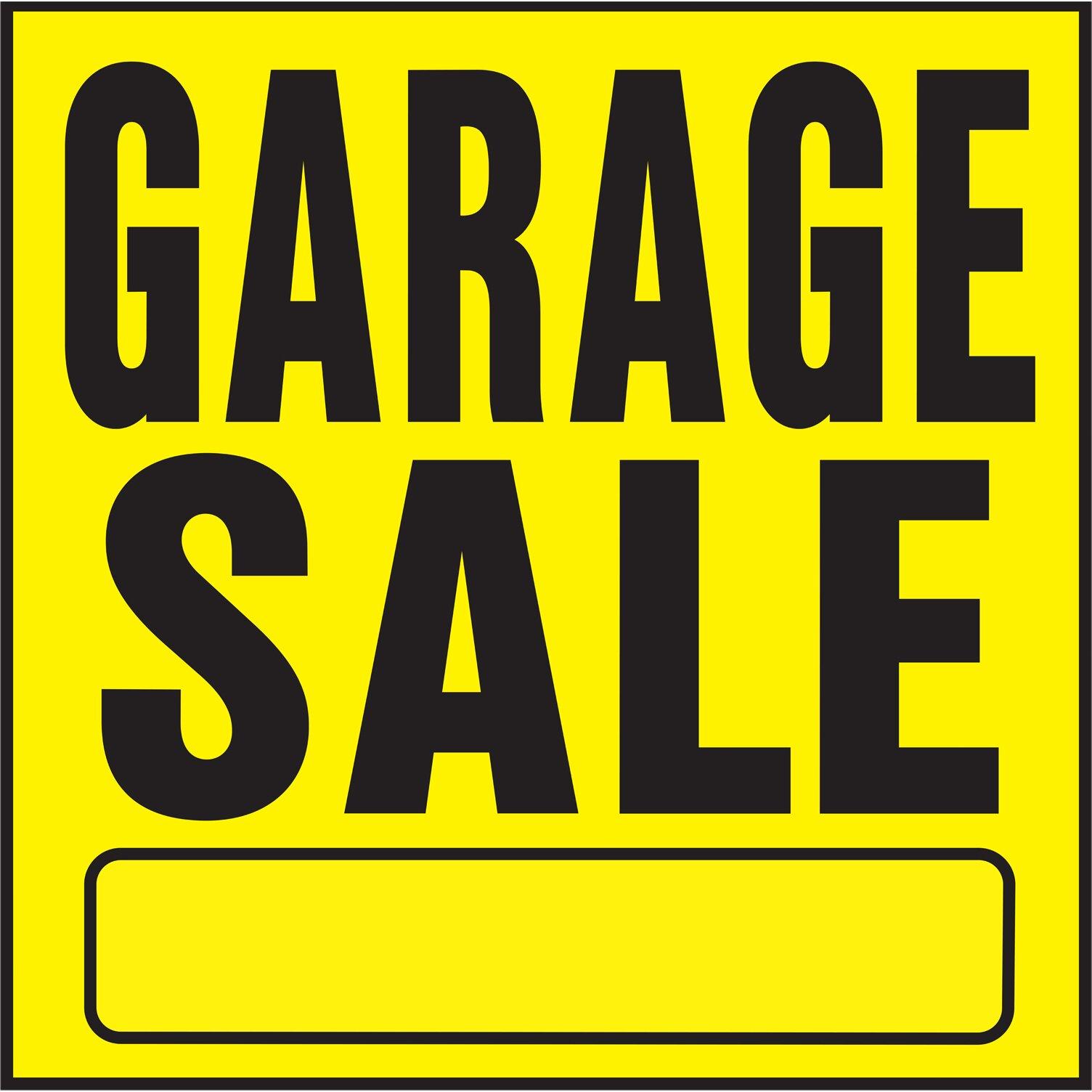 Garage Sale Sign Wayfair Supply