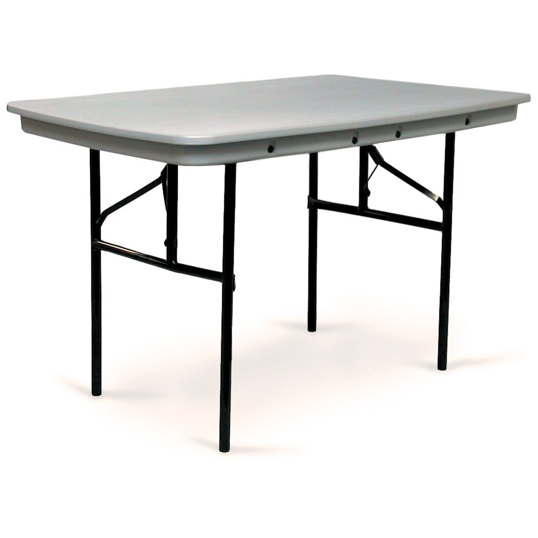 Plastic Folding Table : Commercialite Plastic Folding Table by McCourt Manufacturing