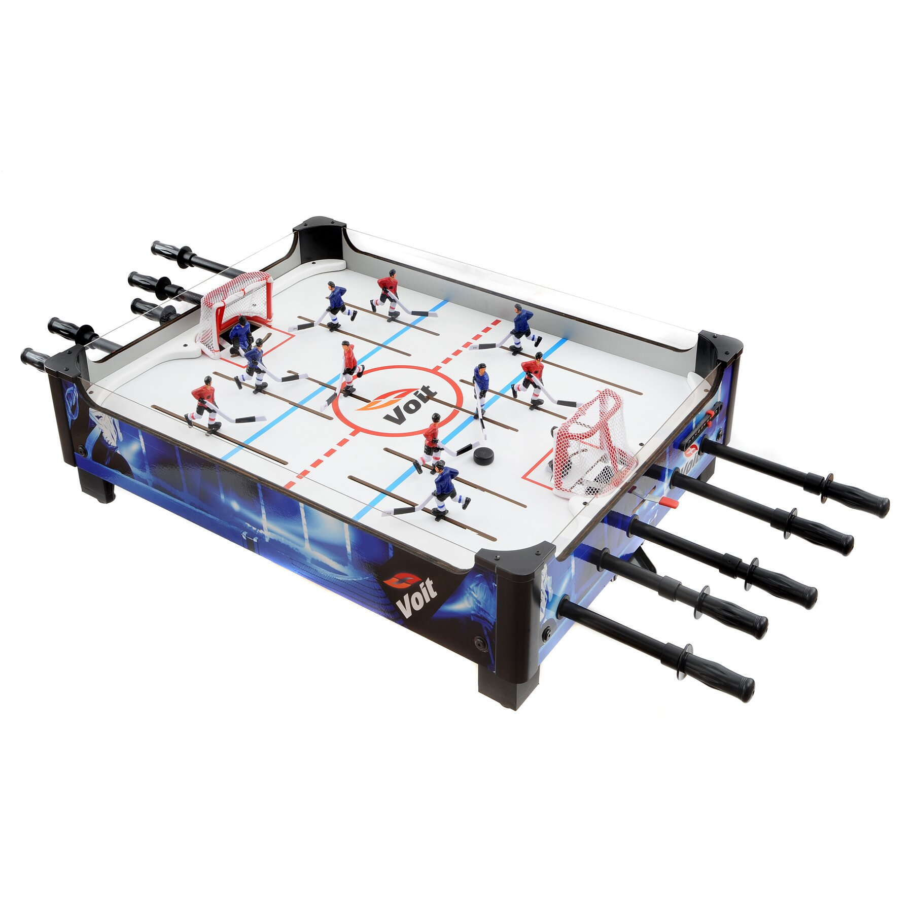 Voit 33 top rod hockey game table reviews wayfair for 12 in 1 game table walmart