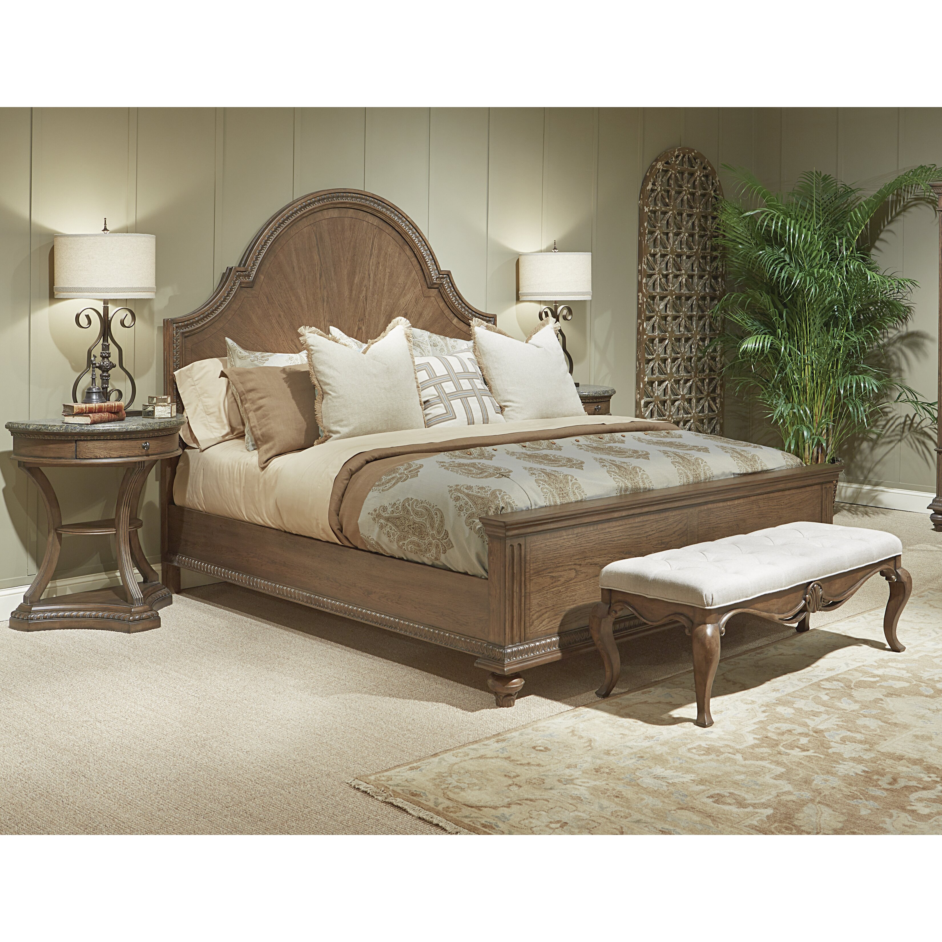 Legacy Classic Furniture Renaissance Upholstered Bedroom