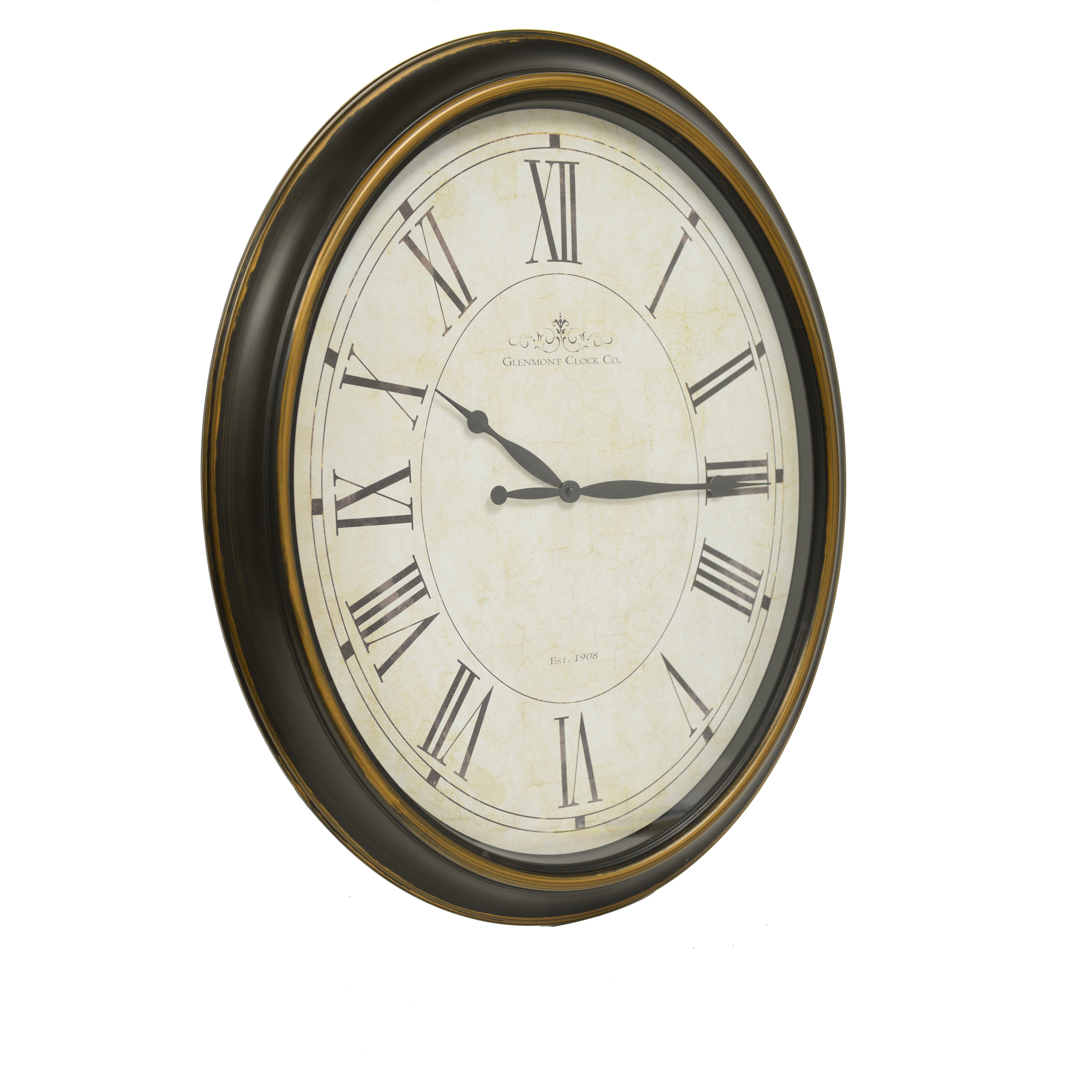 Decor Therapy Glenmont Wall Clock Amp Reviews Wayfair