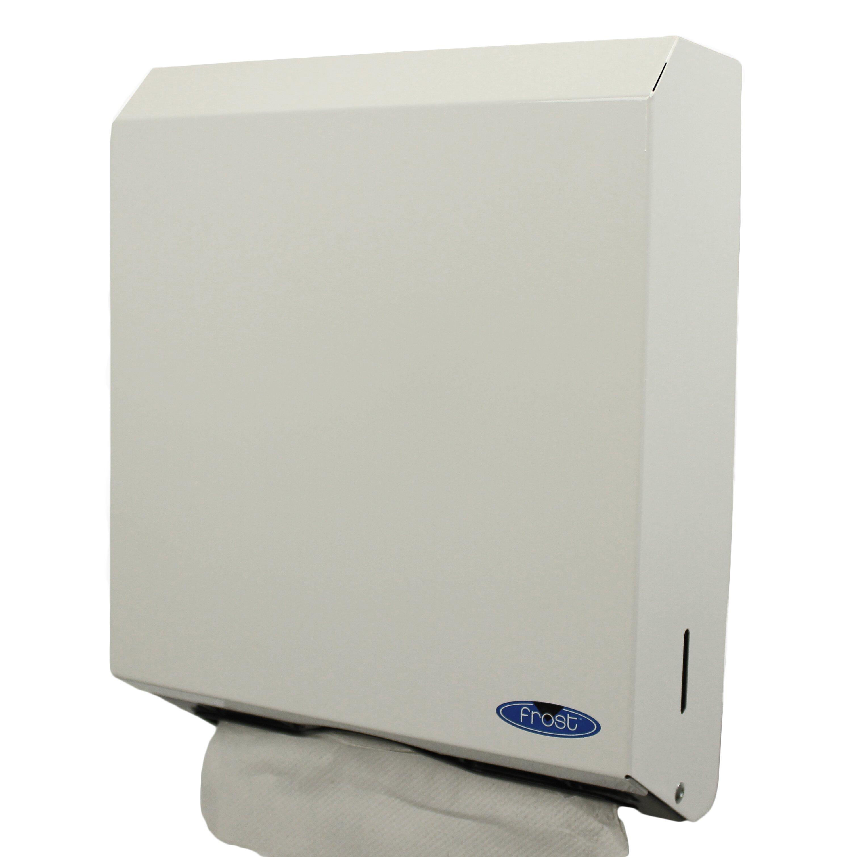 Multifold paper towel dispenser wayfair for Home bathroom towel dispenser
