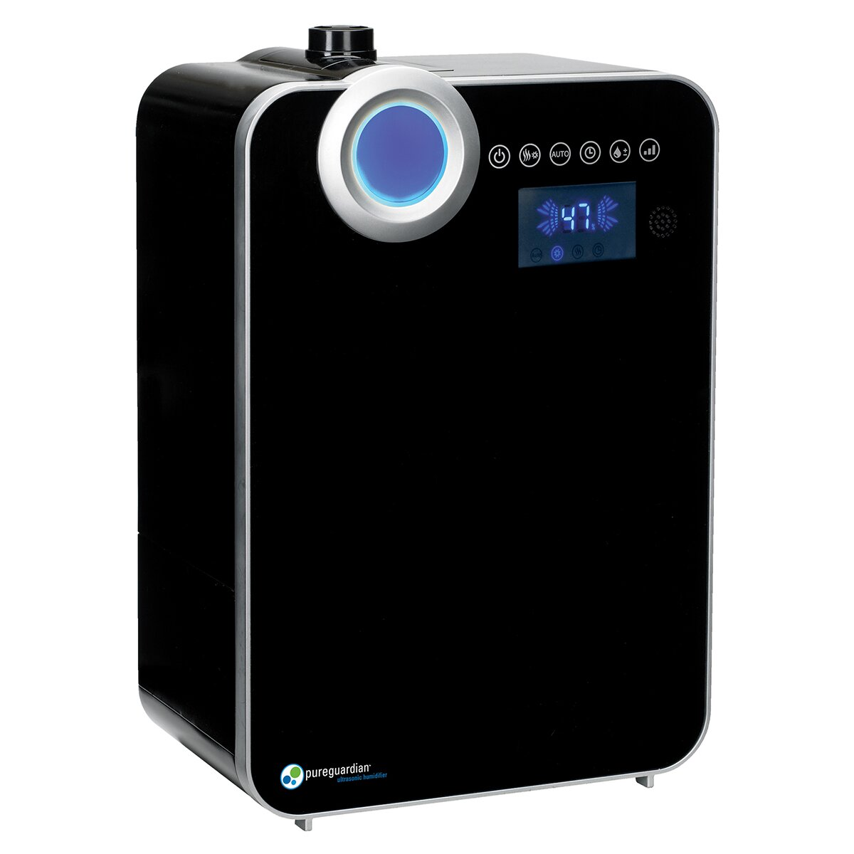 The Pureguardian 120 Hour Elite Smart Cool Warm Mist Share The  #1288B9