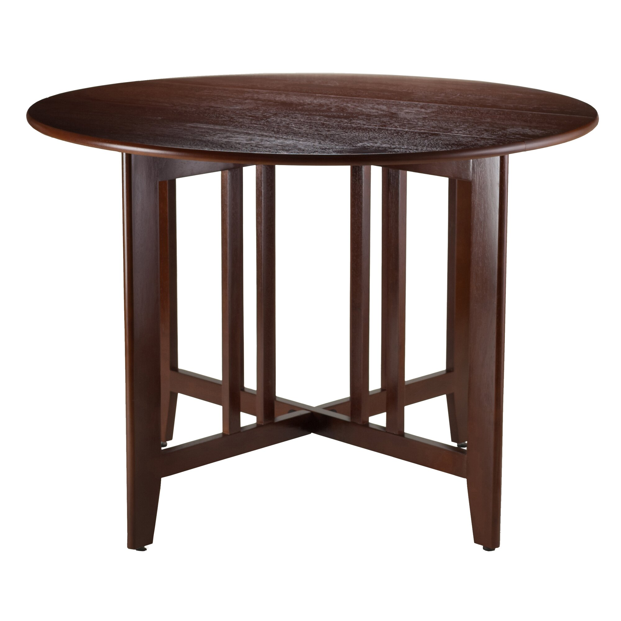 Winsome Alamo Extendable Dining Table Reviews Wayfair