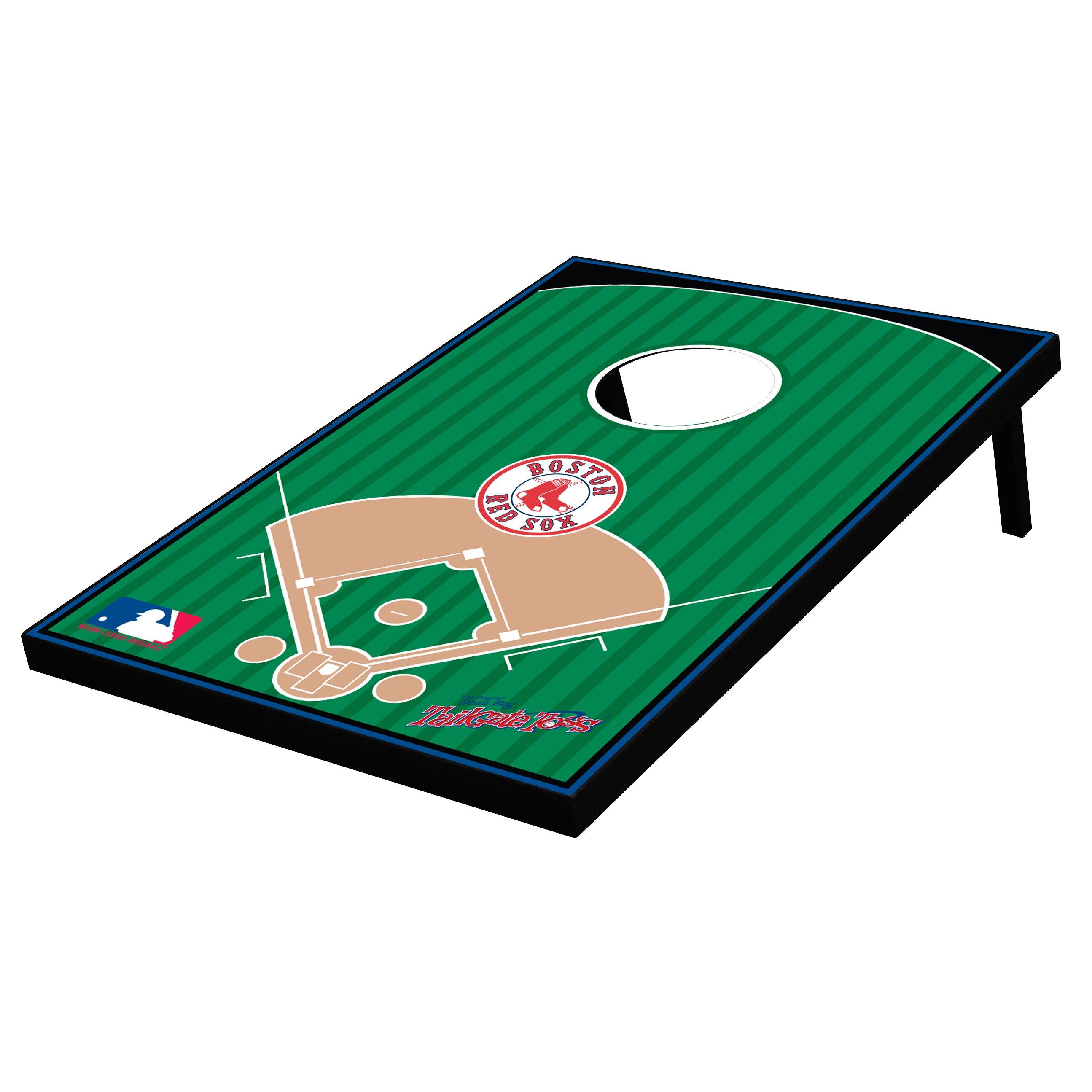 Tailgate Toss 10 Piece Mlb Baseball Bean Bag Toss Game