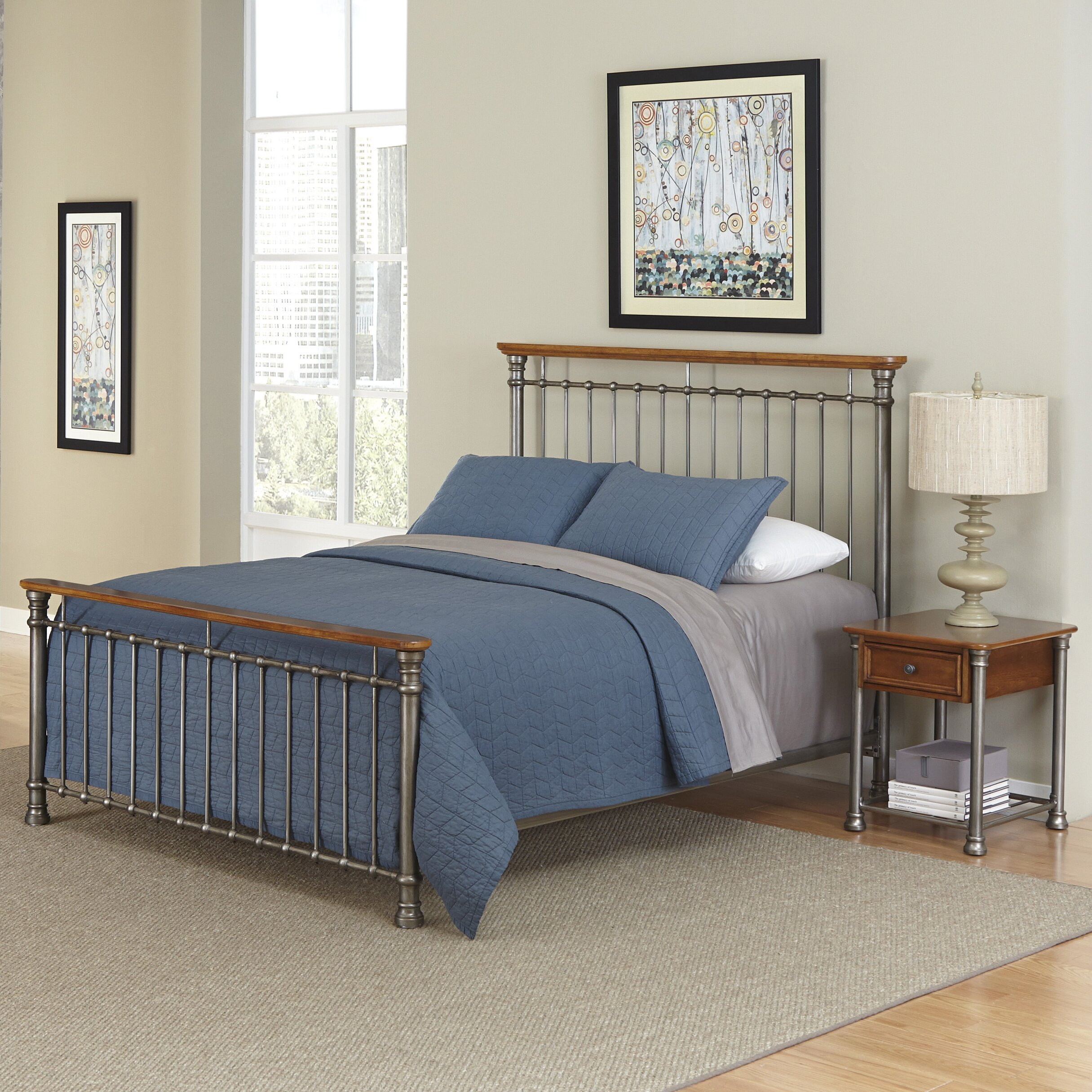 Home Styles Orleans Panel 2 Piece Bedroom Set Reviews Wayfair