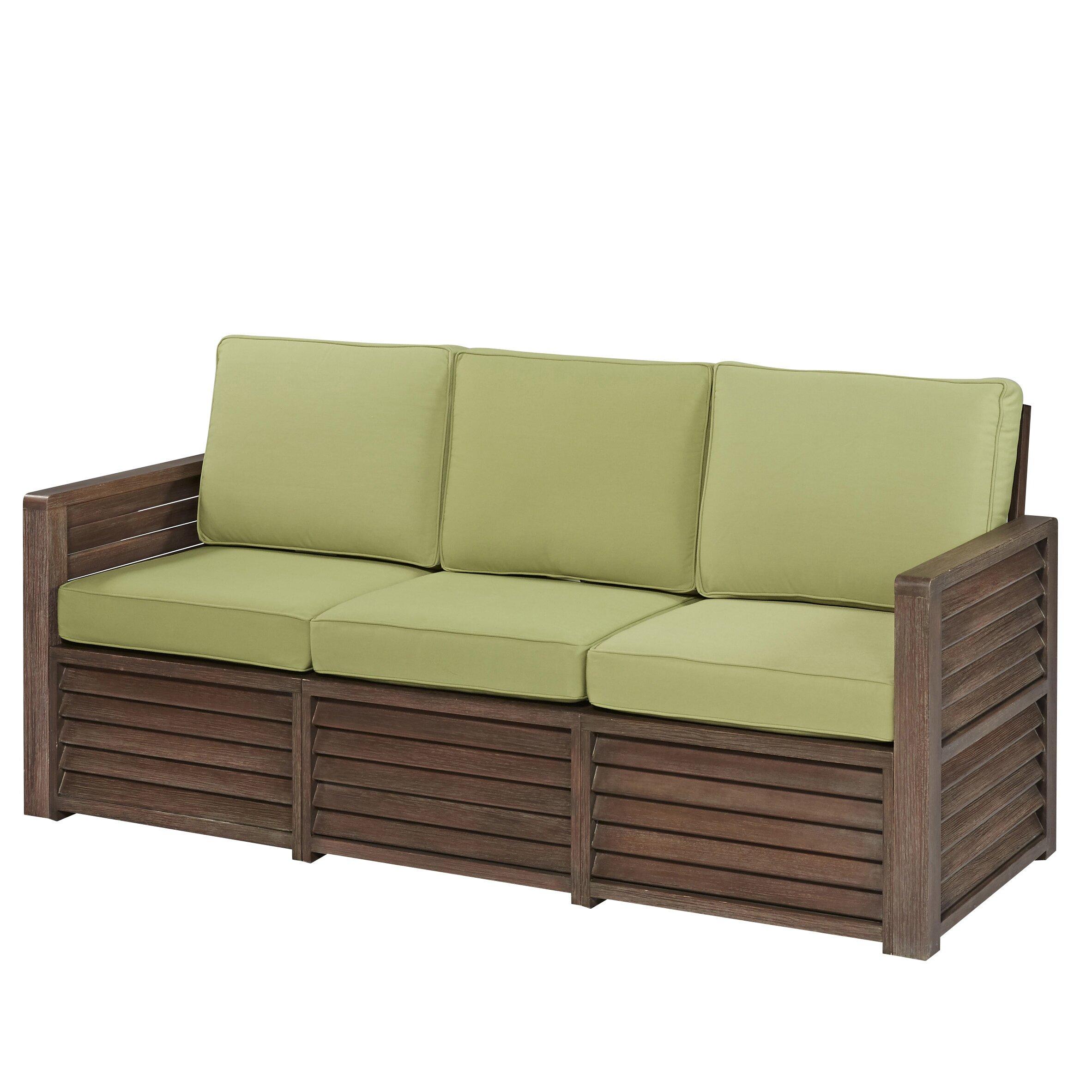 Home Styles Barnside Deep Seating Sofa With Cushions