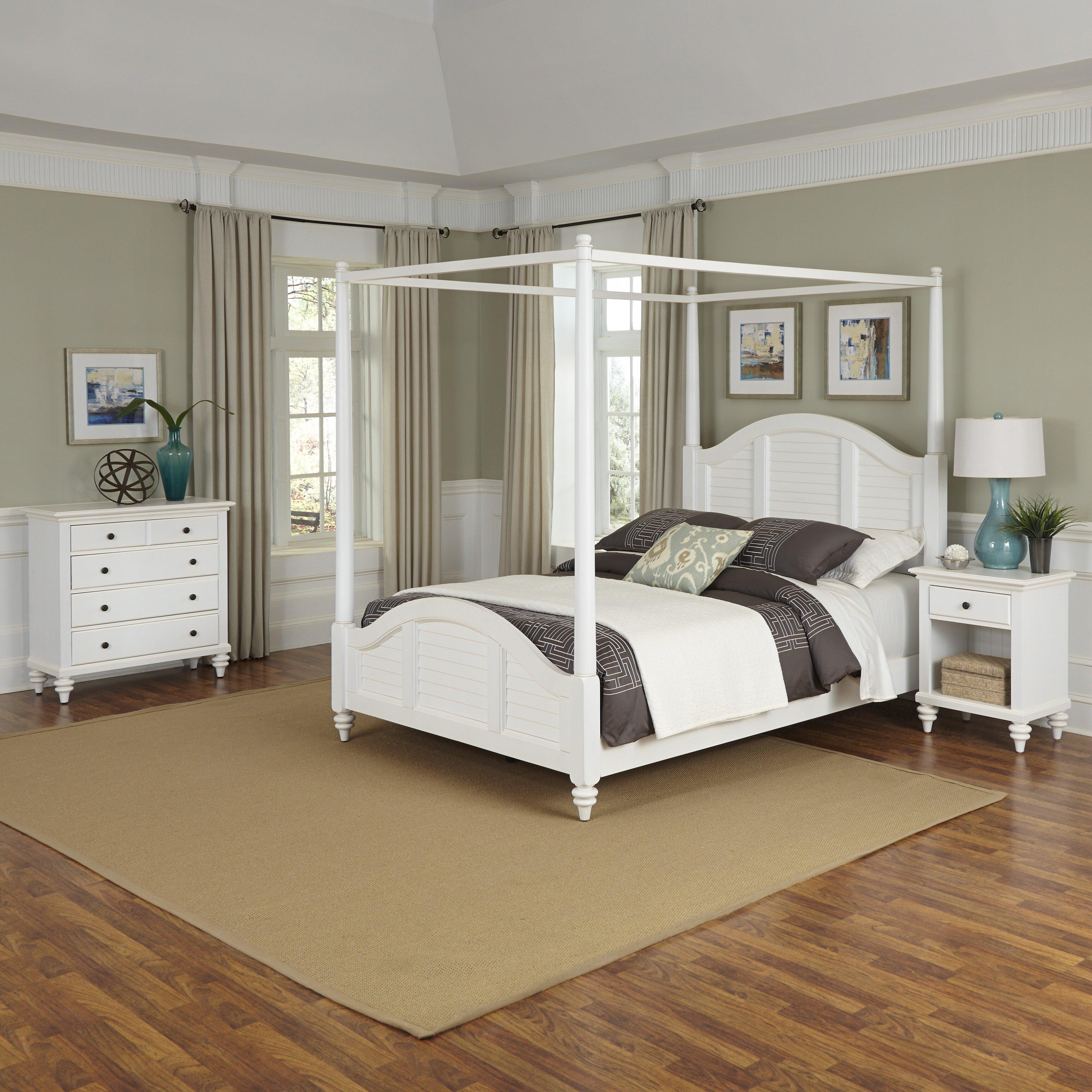 bermuda panel 3 piece bedroom set  wayfair