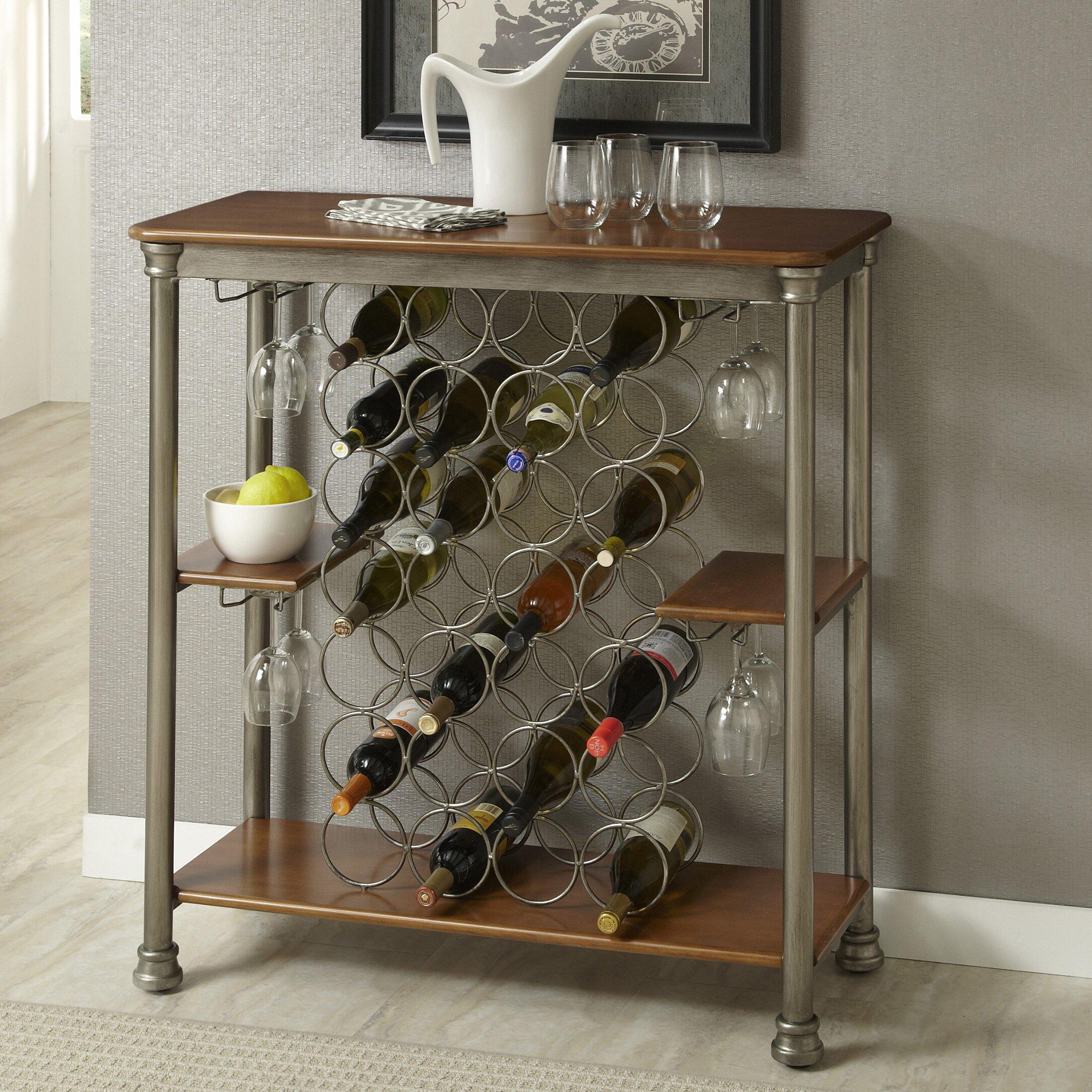 Home styles orleans bottle wine rack reviews wayfair