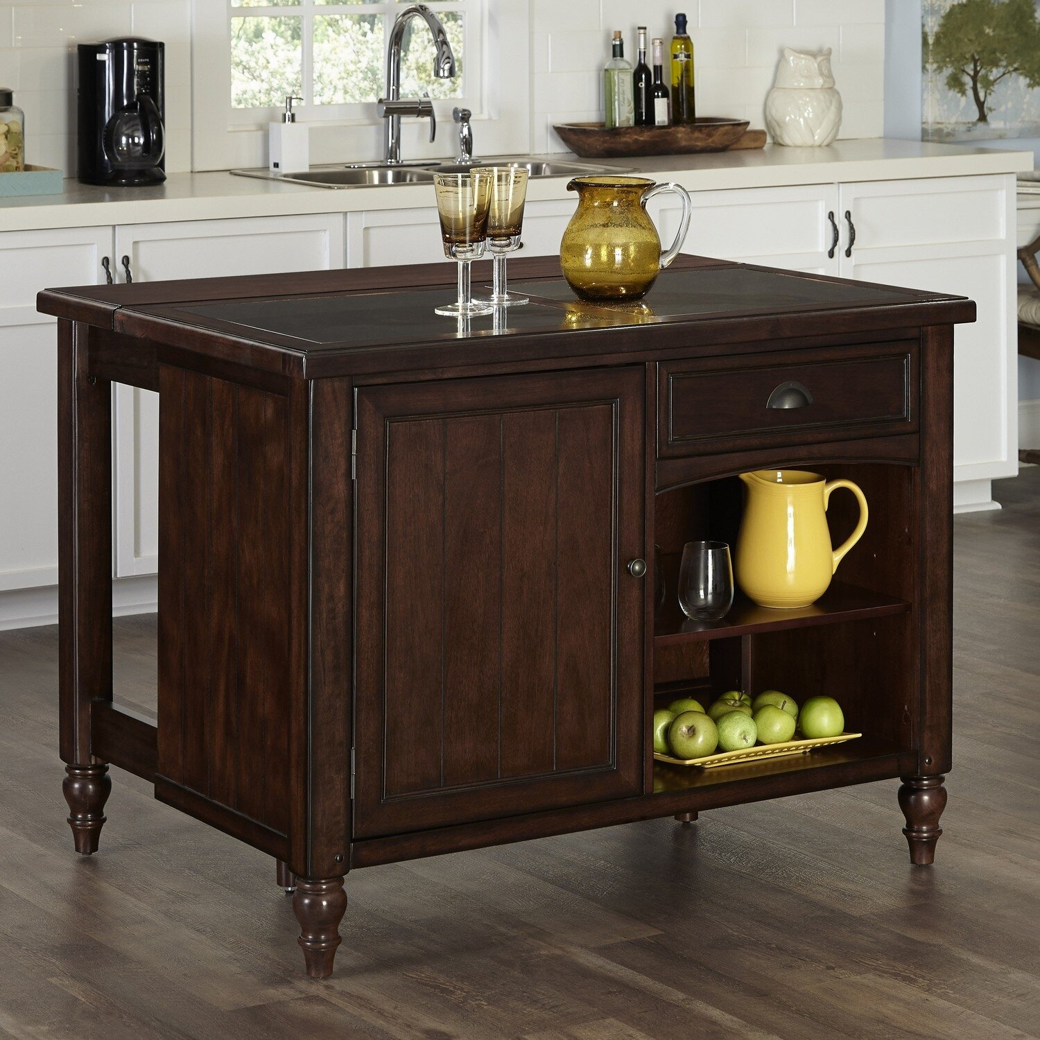 Country Comfort Kitchen Island By Home Styles