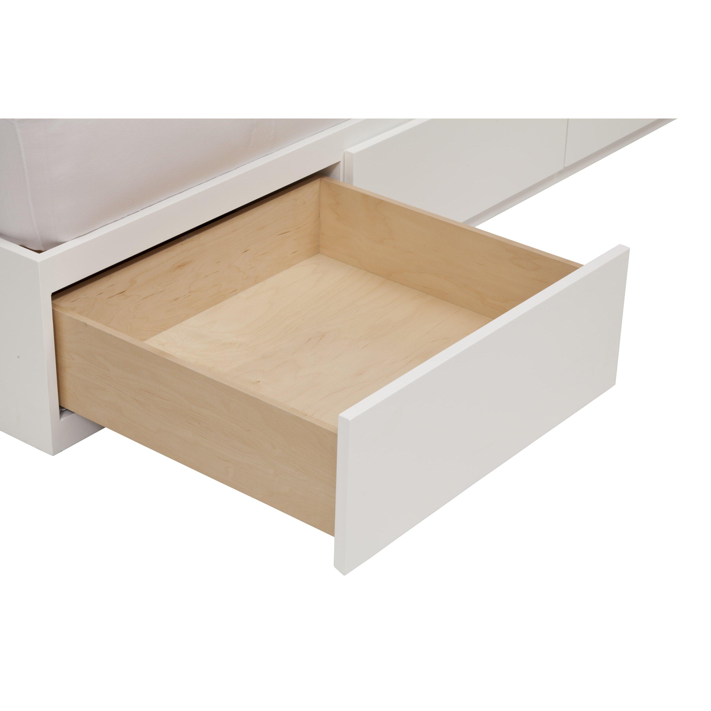 Urbangreen Urban Basics Twin Platform Bed With Storage