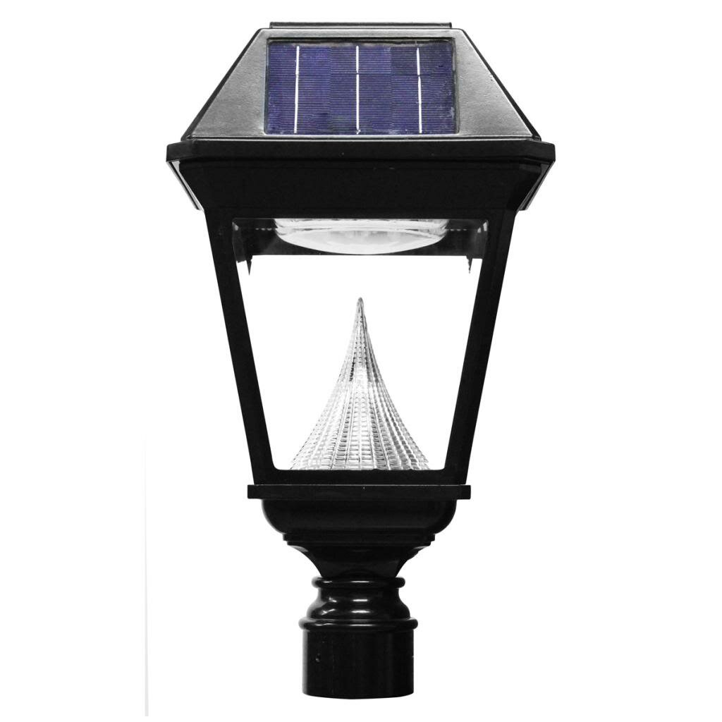 Light Pole Led Fixtures: Gama Sonic Imperial II 21 Light Post Light & Reviews
