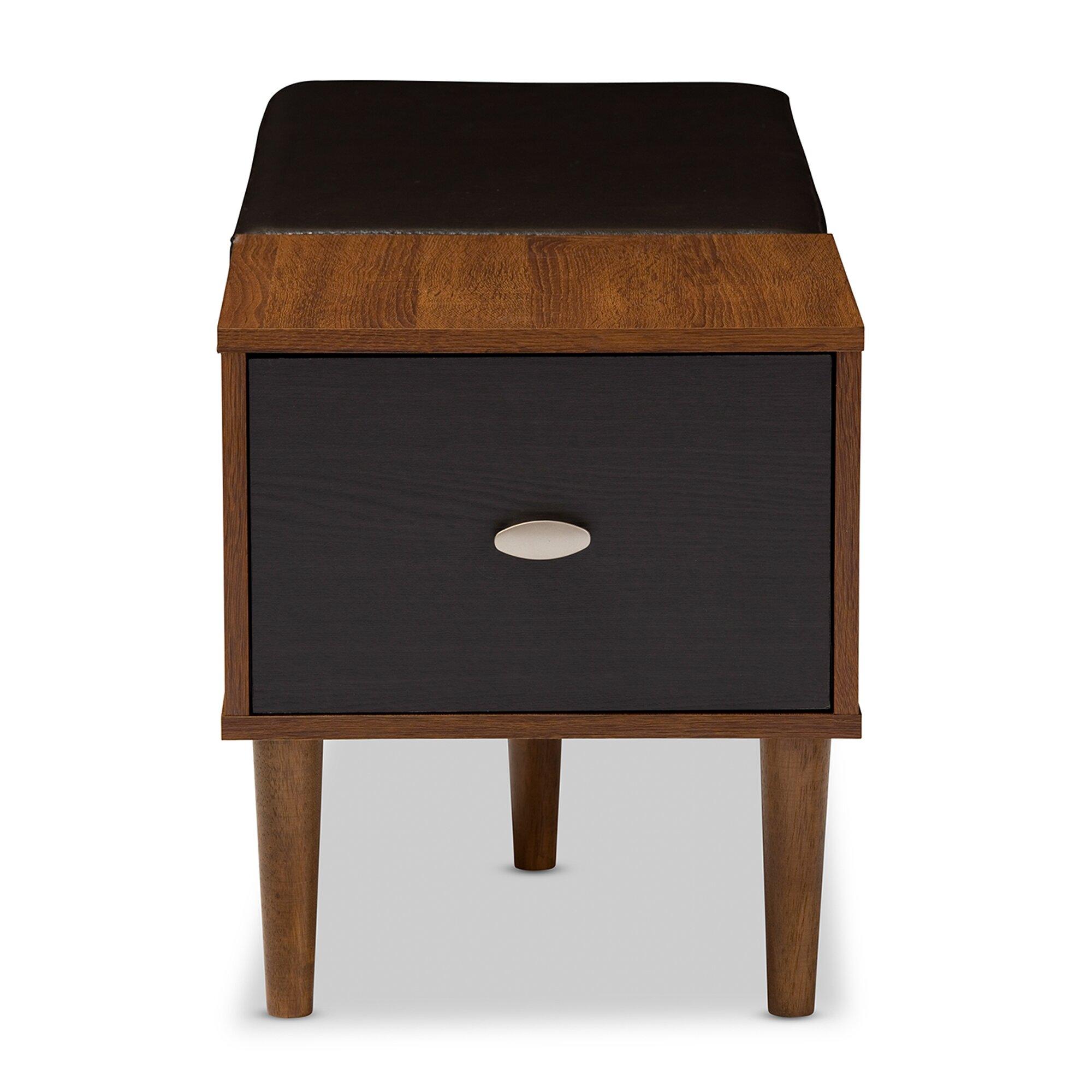 Wholesale interiors merrick wood storage entryway bench amp reviews