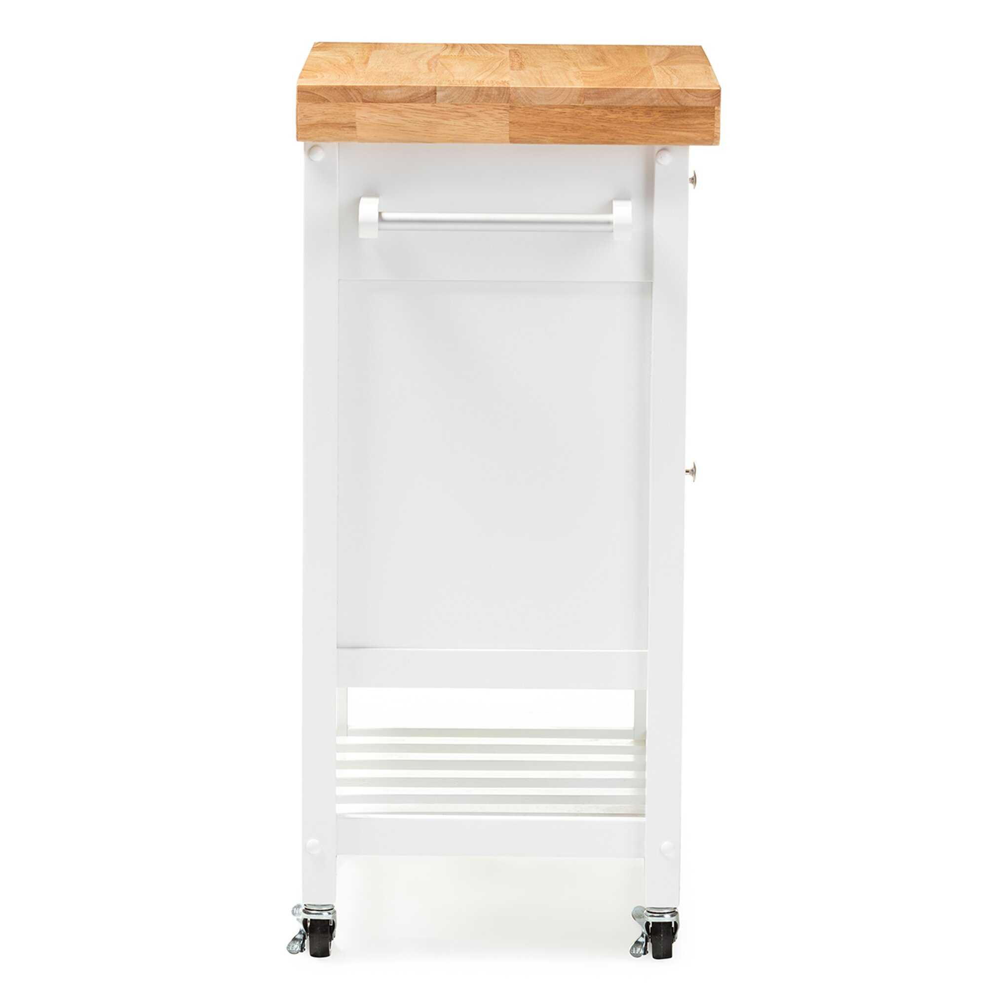 Wholesale Interiors Kitchen Cart with Wood Top & Reviews ...