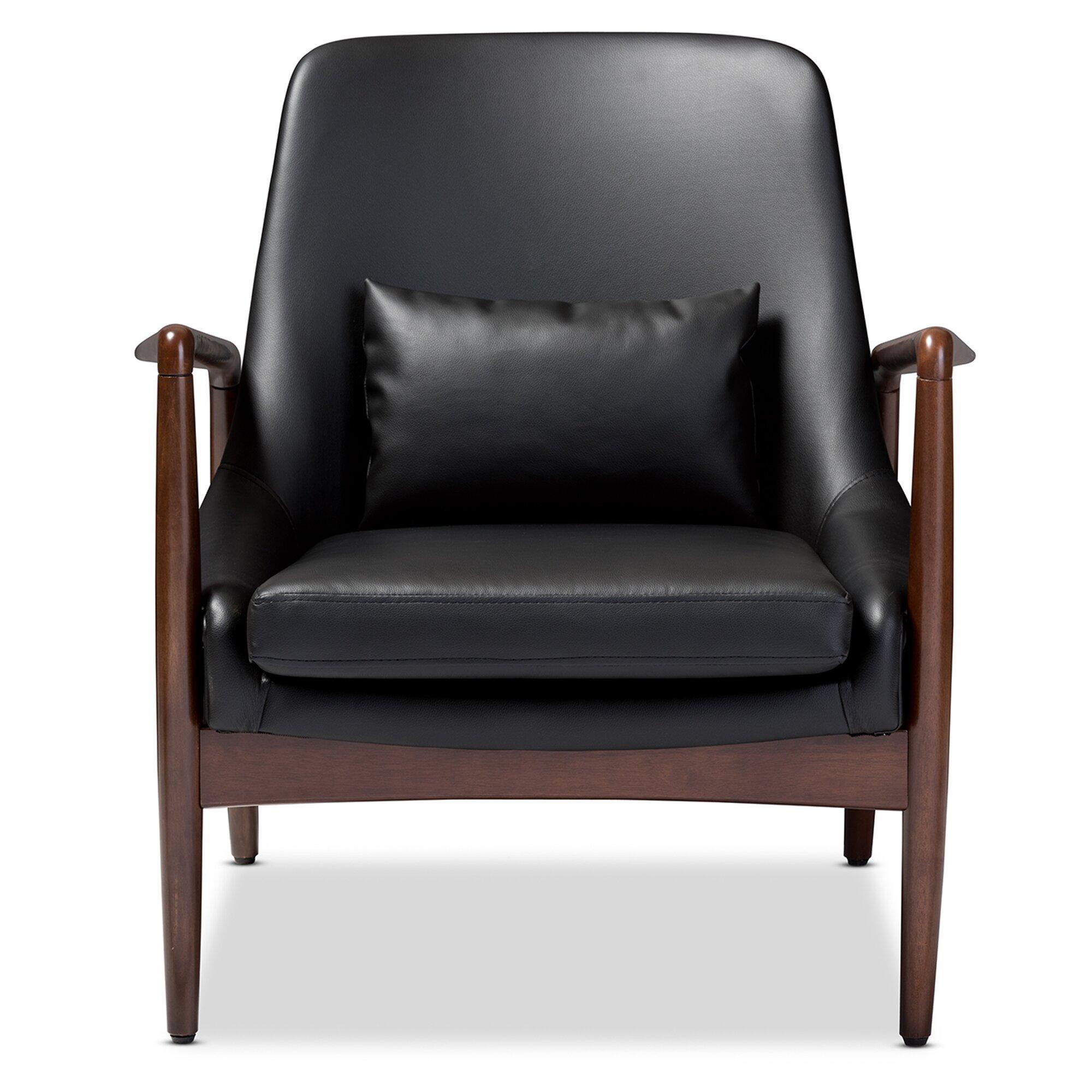 carter lounge chair wayfair. Black Bedroom Furniture Sets. Home Design Ideas