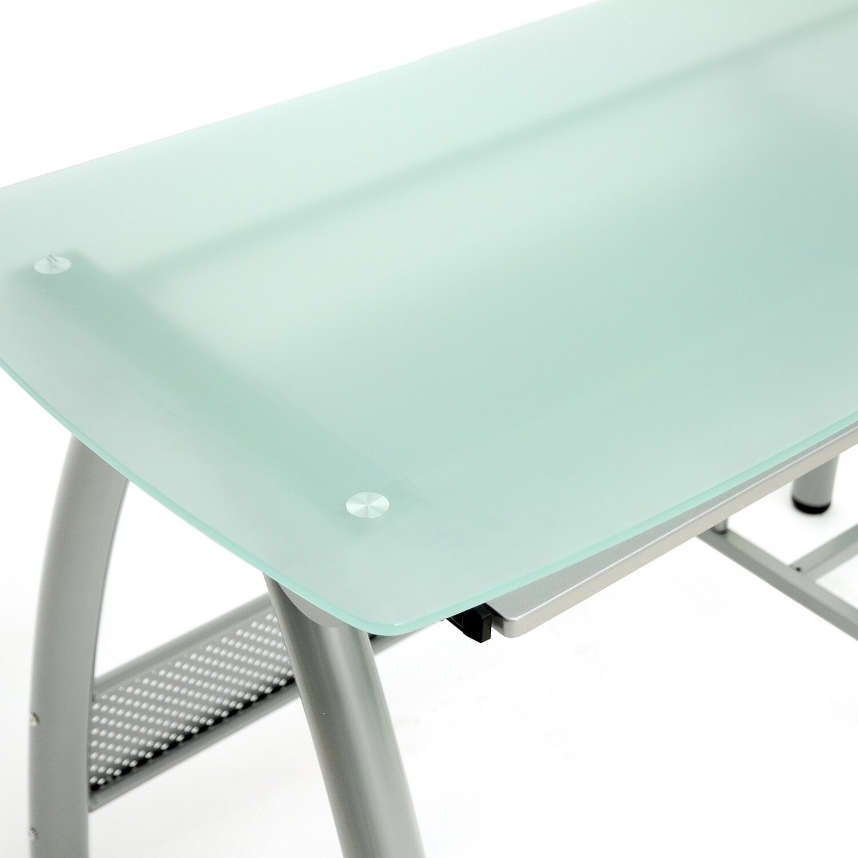 Baxton Studio Tamm Modern Computer Desk With Keyboard Tray