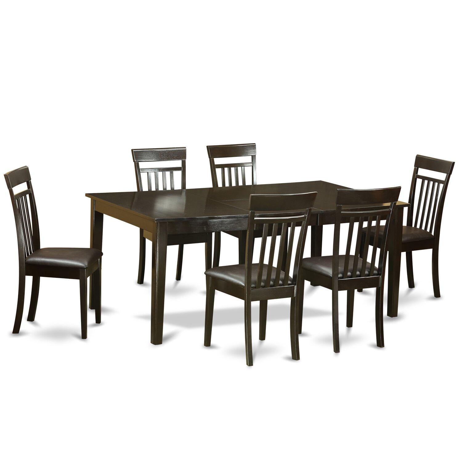 Henley 7 piece dining set wayfair for 6 dining room chairs