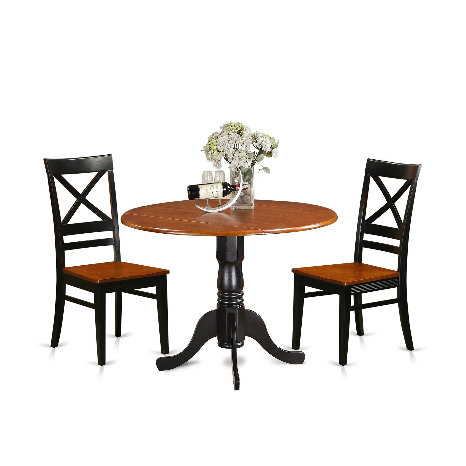 Dining Table Set For 2 Chairs 3 Piece Kitchen Room: 3 Piece Dining Set