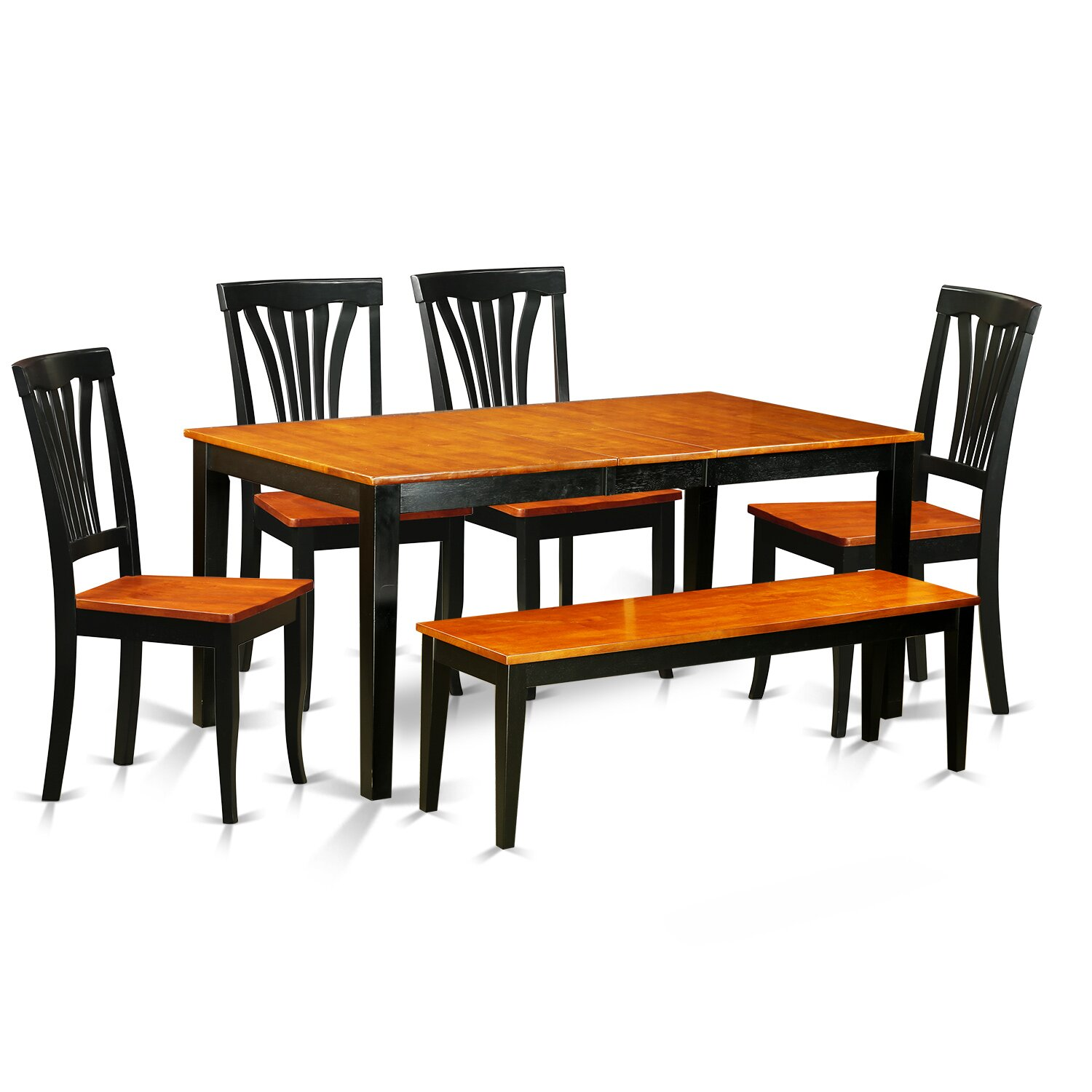 Nicoli 6 piece dining set wayfair for Kitchen table sets for 6