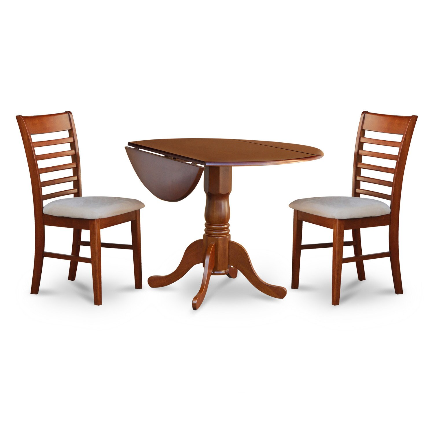 East West Dublin 3 Piece Dining Set & Reviews