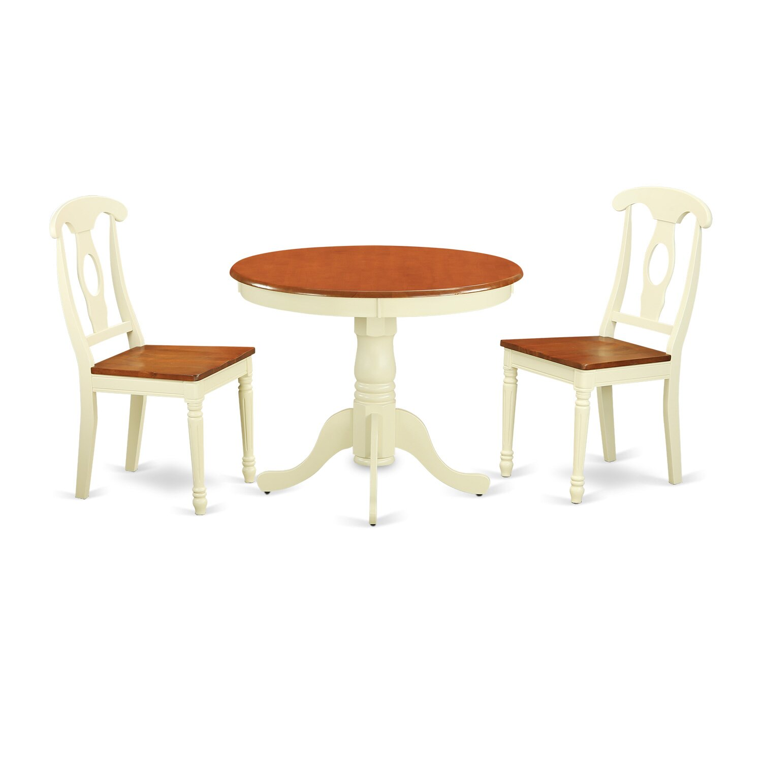 3 piece dining set wayfair for Dinette table and chairs
