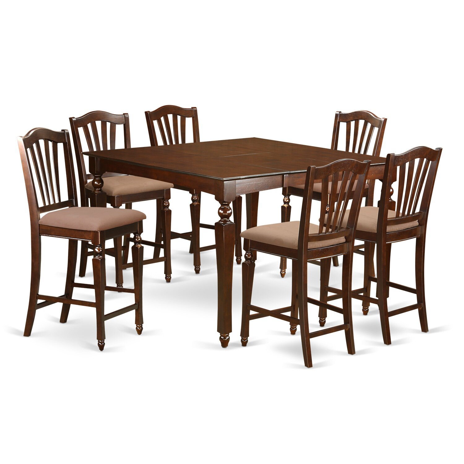 chelsea 5 piece dining set cherry finish images