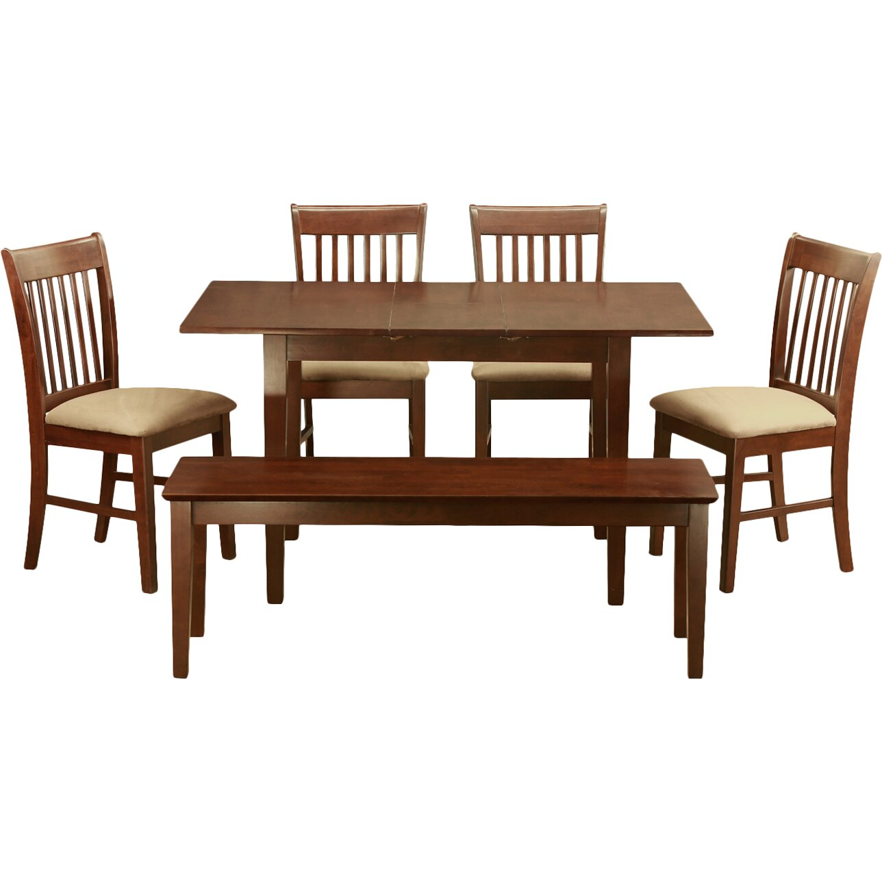 East West Norfolk 6 Piece Dining Set & Reviews