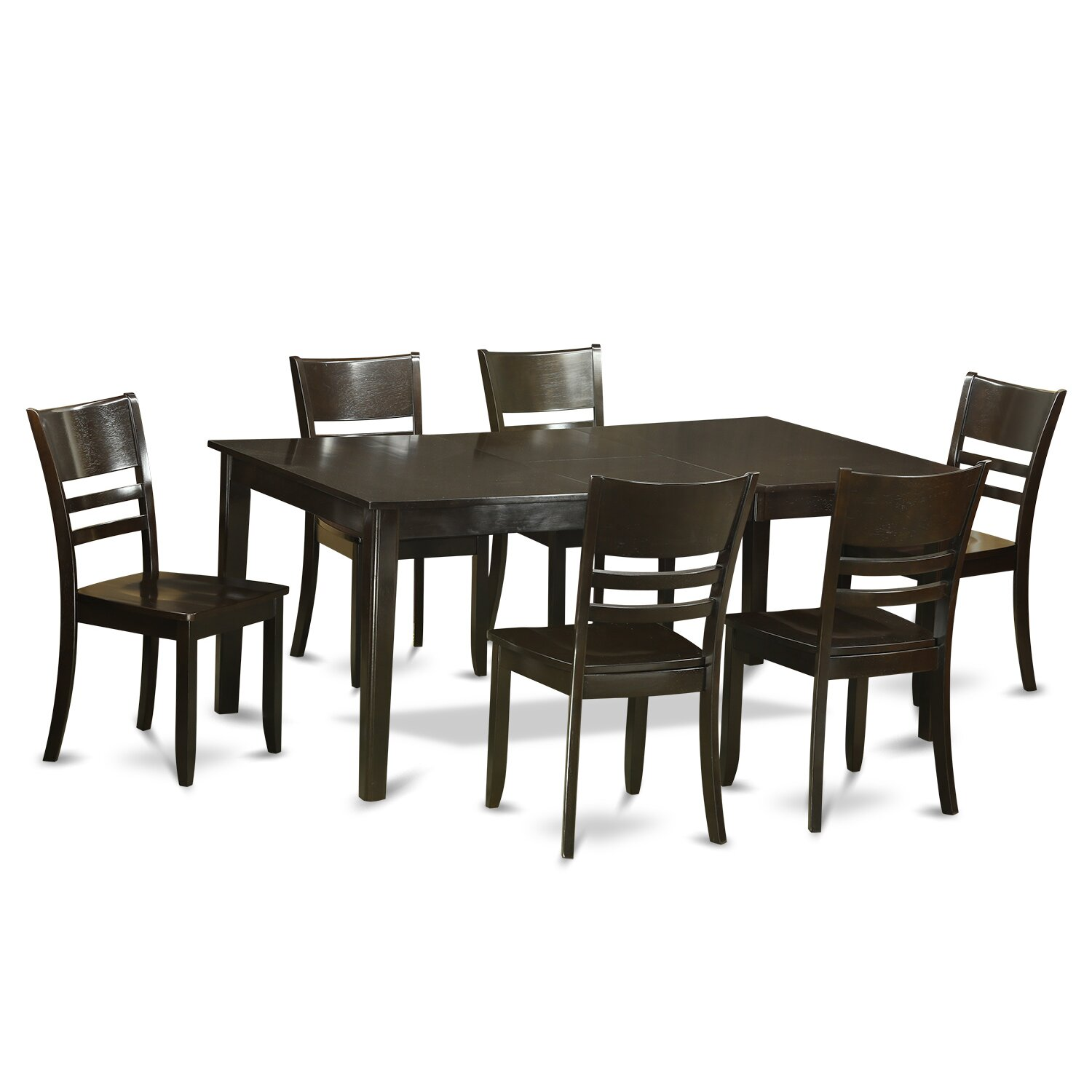 28 Wayfair Dining Room Chairs Jofran Dining Chairs  : 7 Piece Dining Set dining Room Set Table and 6 Dinette Chairs HELY7 CAP W from jobberguy.com size 1500 x 1500 jpeg 172kB