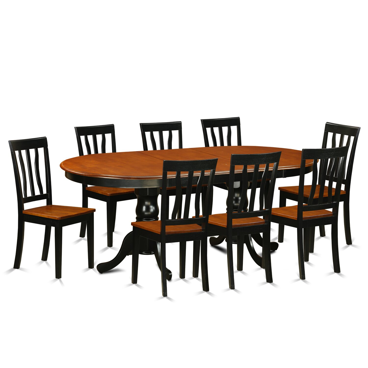 9 Piece Dining Table Set For 8 Dining Room Table With 8: Plainville 9 Piece Dining Set