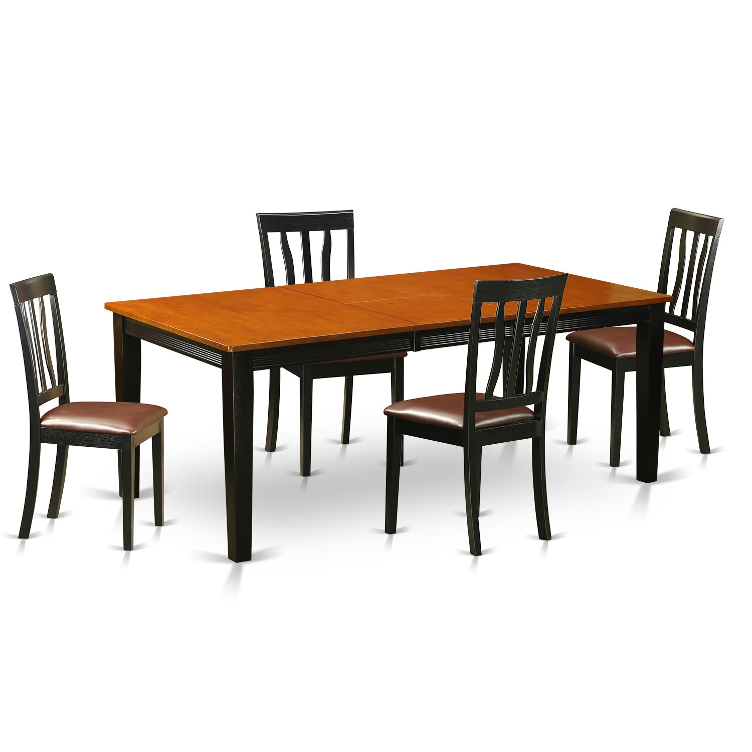 Quincy 5 piece dining set wayfair for 5 dining room chairs
