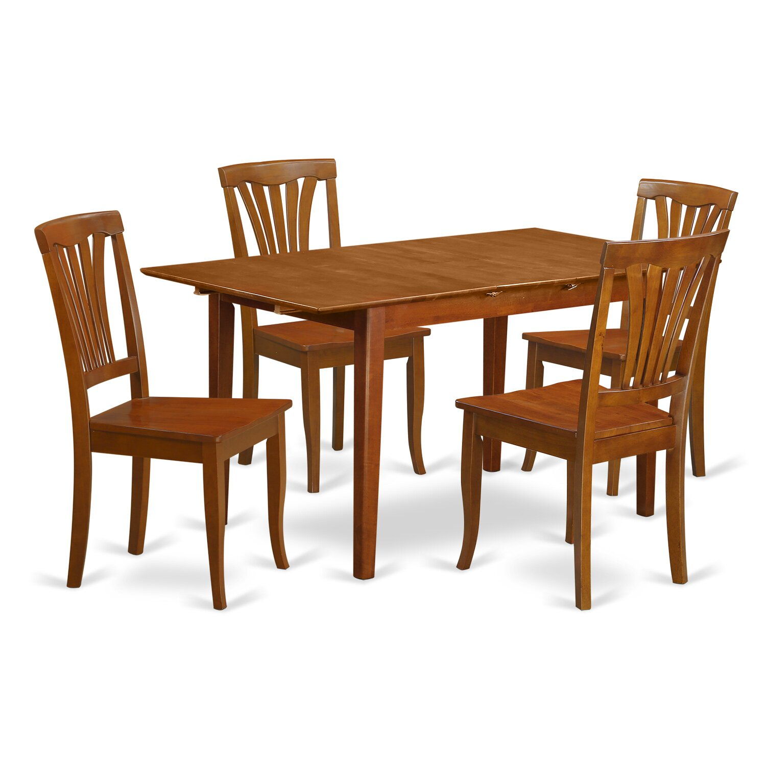 Wooden Importers 3 Piece Dining Set Reviews: Wooden Importers Picasso 5 Piece Dining Set & Reviews