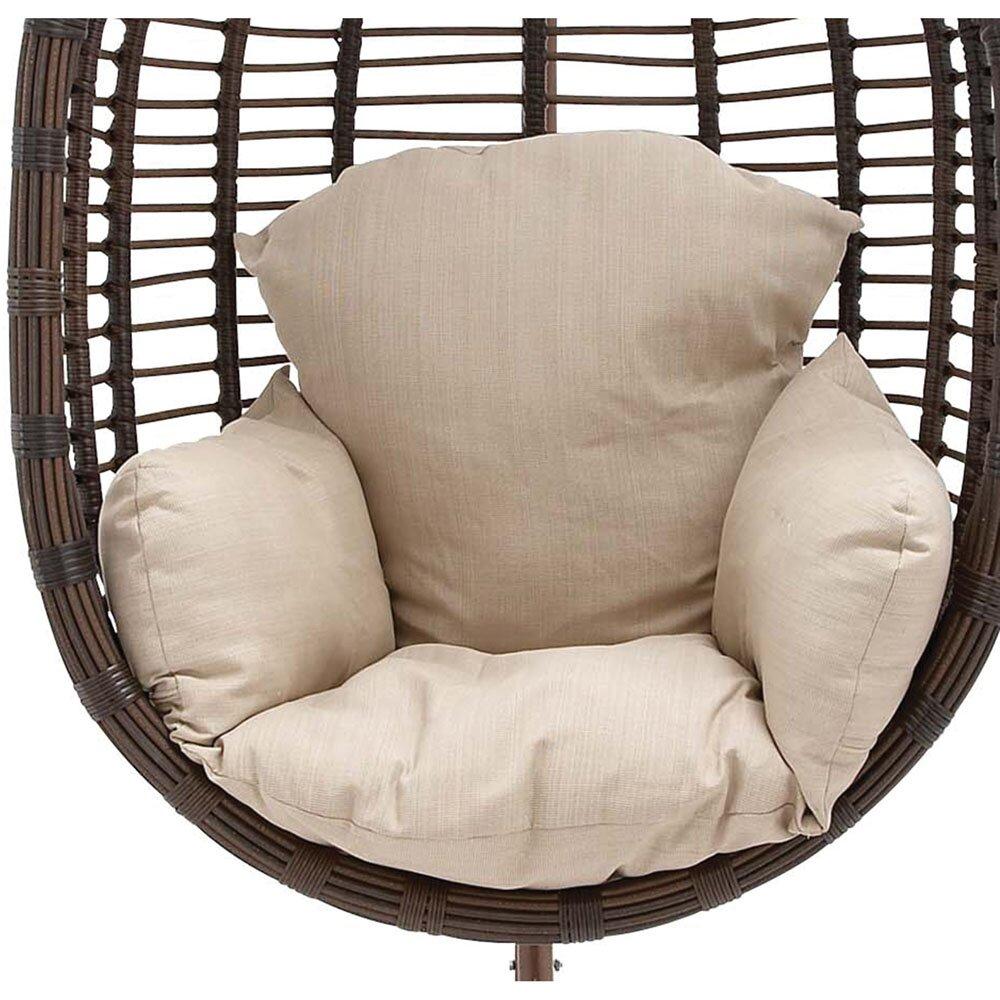 Wicker Pod Swing Chair Wayfair