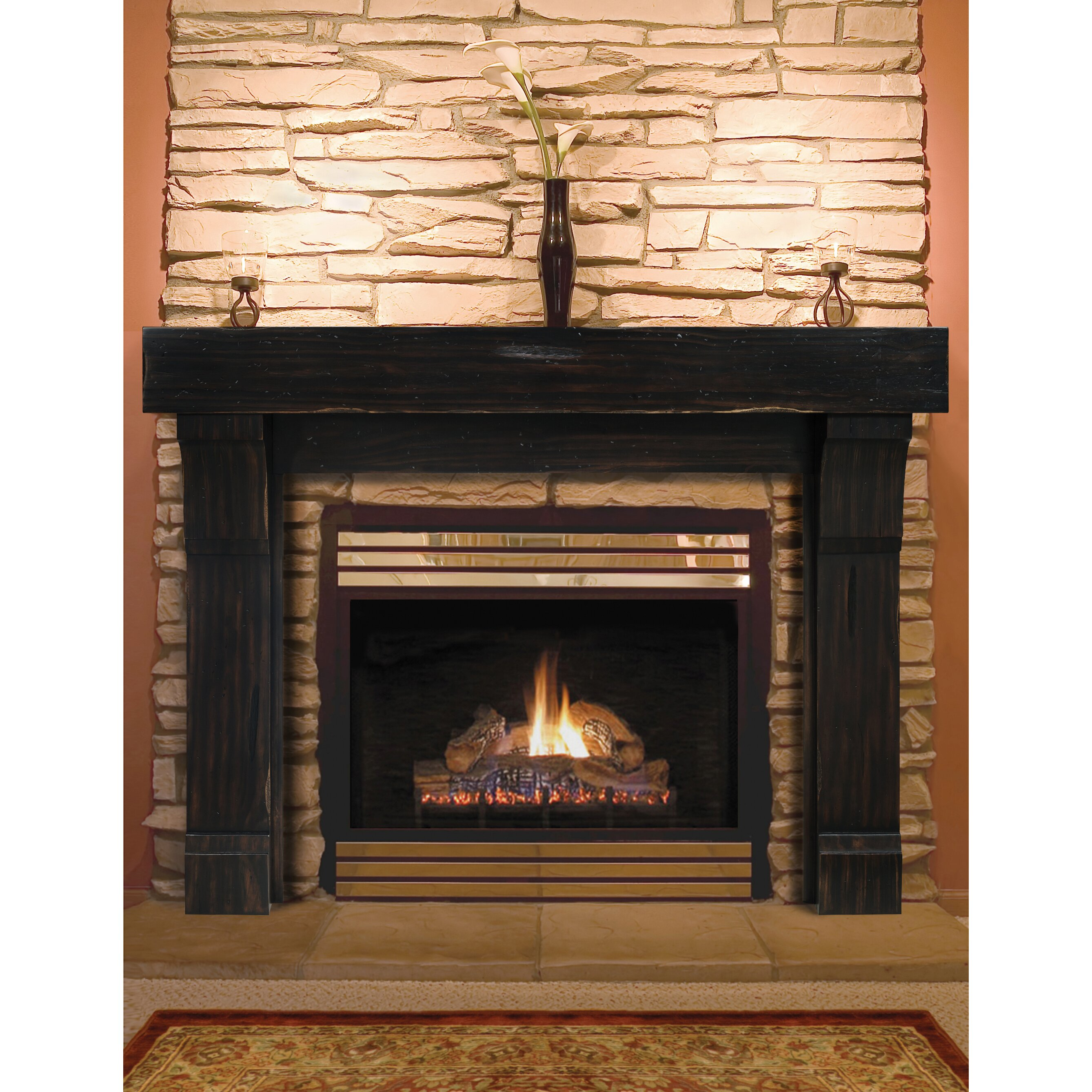 cumberland fireplace mantel surround wayfair