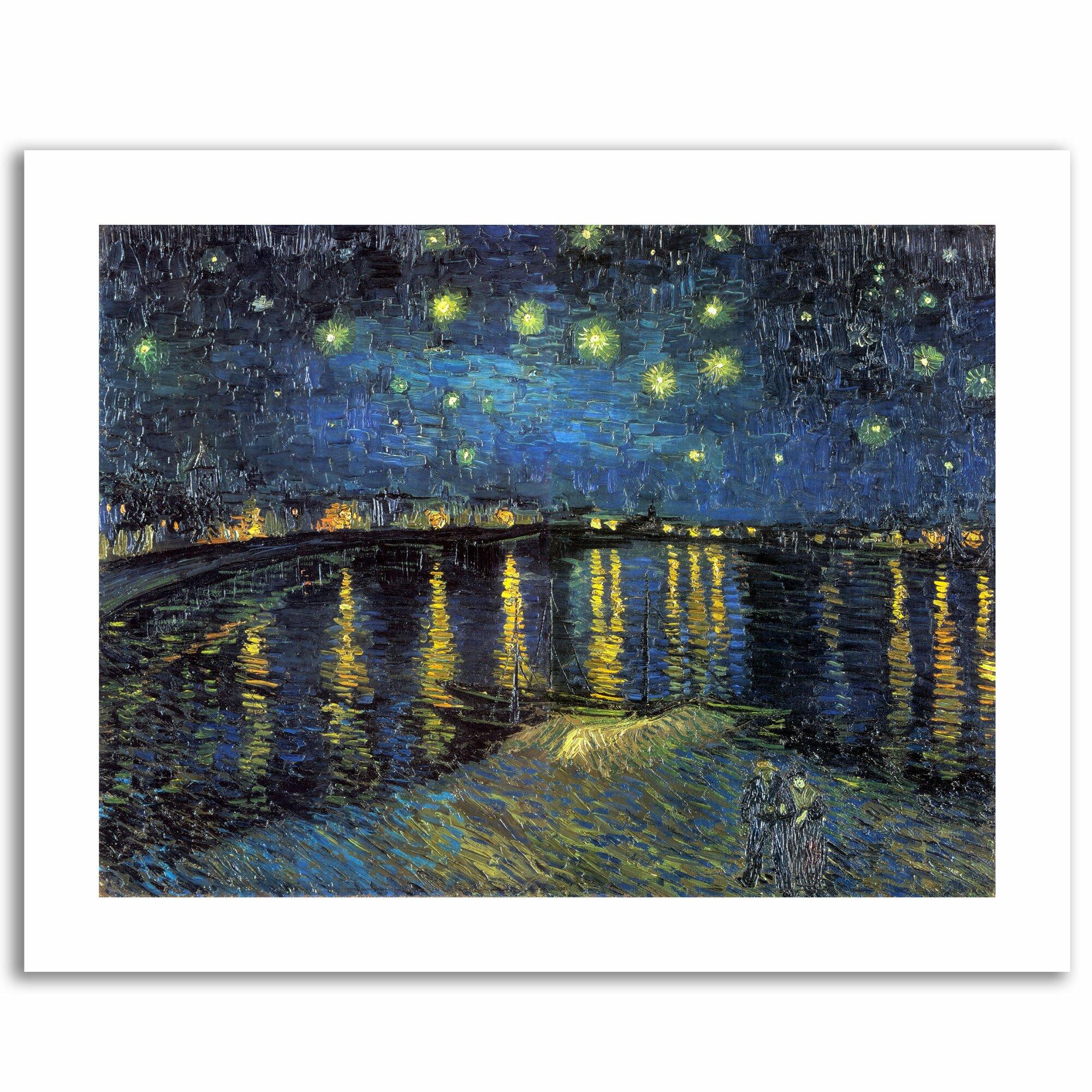 Van Gogh Year 2 Trademark Fine Art The Starry Night Ii By