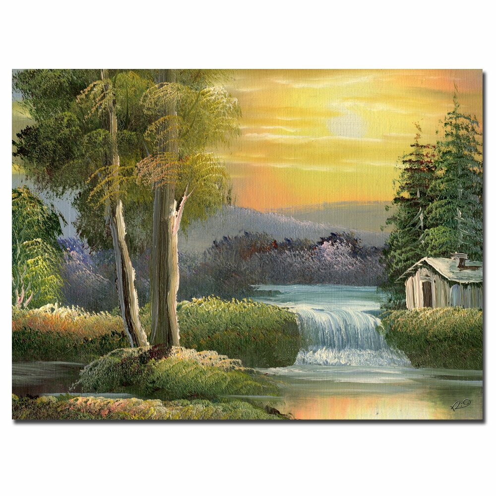 Trademark Art 39 Old House 39 By Rio Painting Print On Canvas