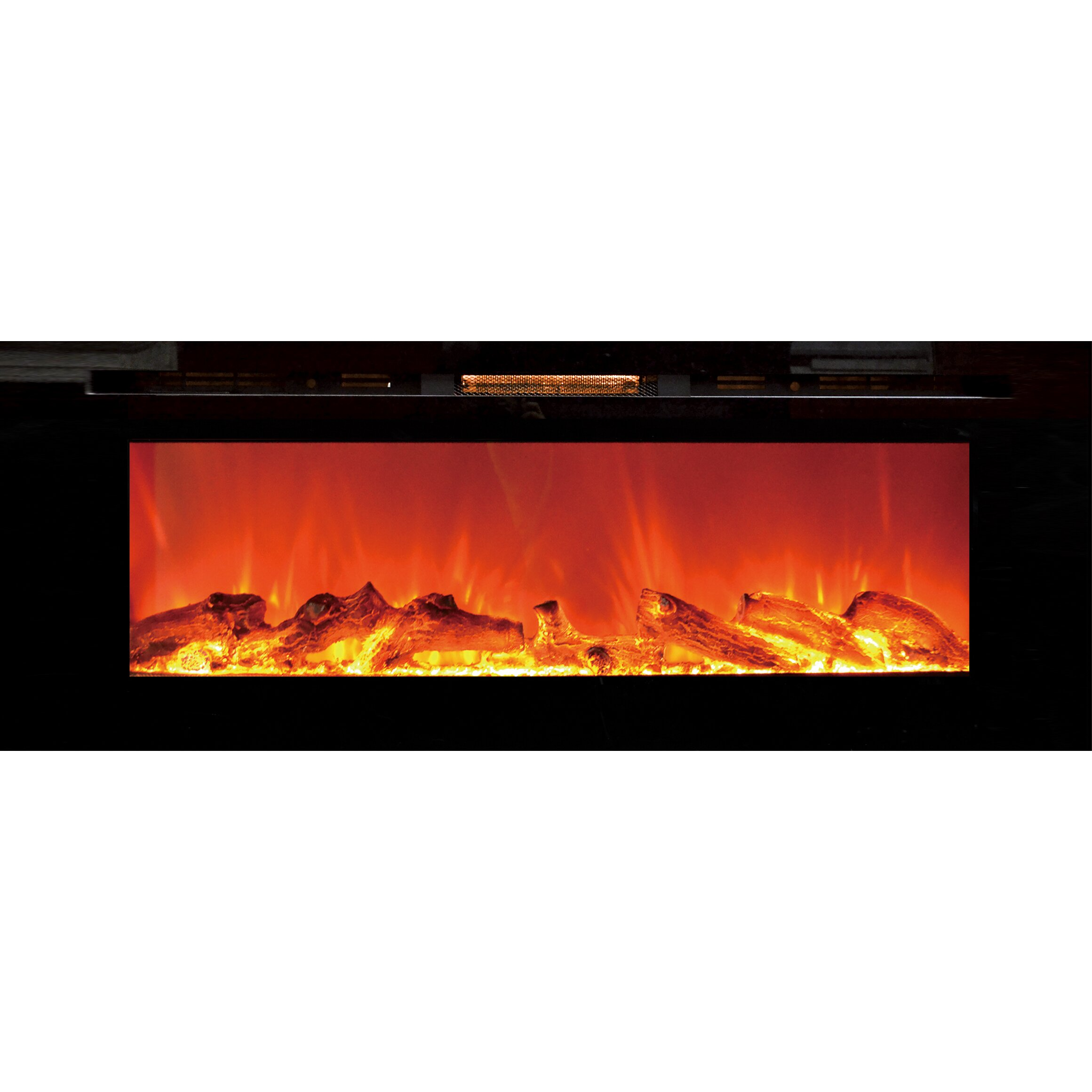 Touchstone Sideline In Wall Recessed Electric Fireplace Reviews Wayfair Supply