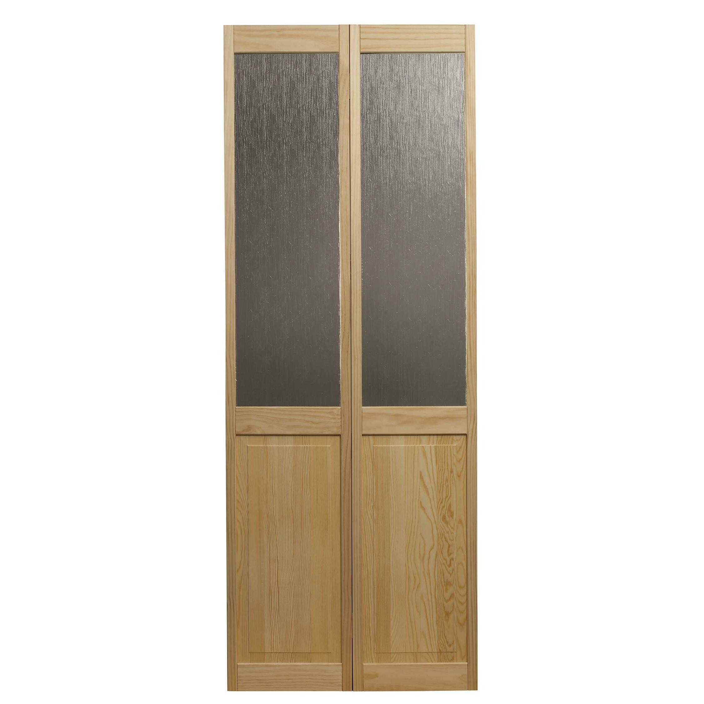 Ltl Bi Fold Doors Wood Unfinished Bi Fold Interior Door Reviews Wayfair