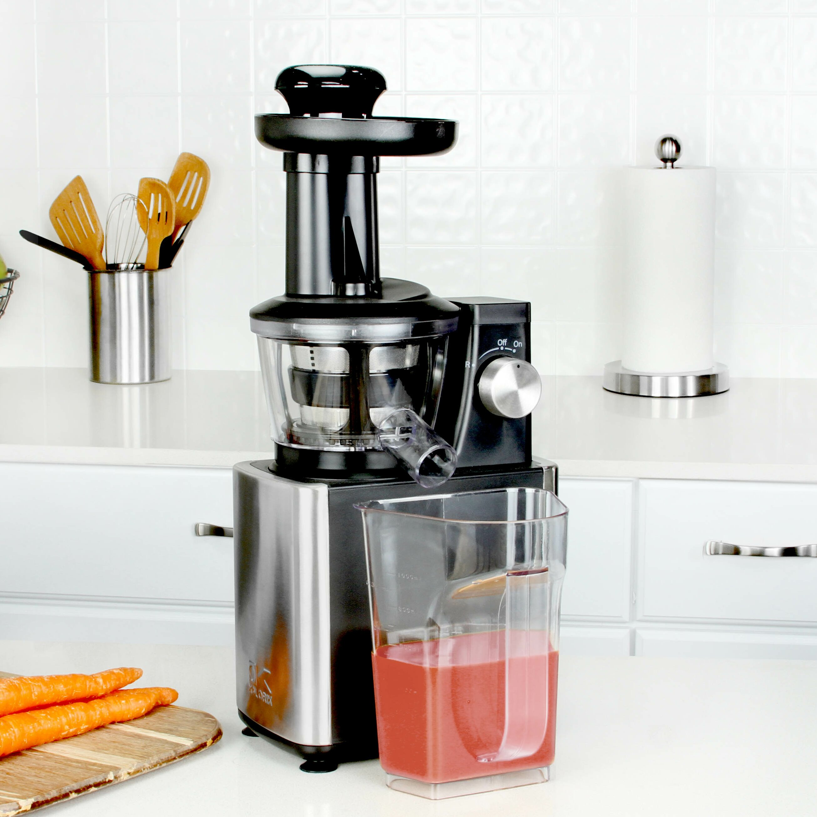 Kalorik Masticating Juicer Review : Kalorik Slow Juicer & Reviews Wayfair