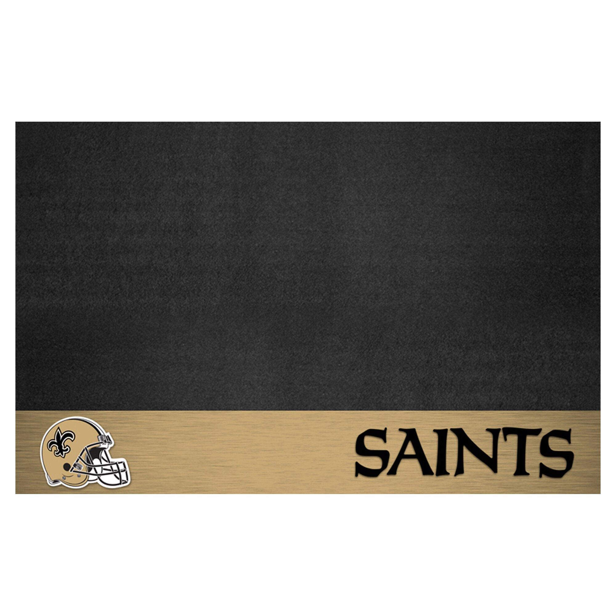 Fanmats Nfl New Orleans Saints Grill Mat Reviews Wayfair